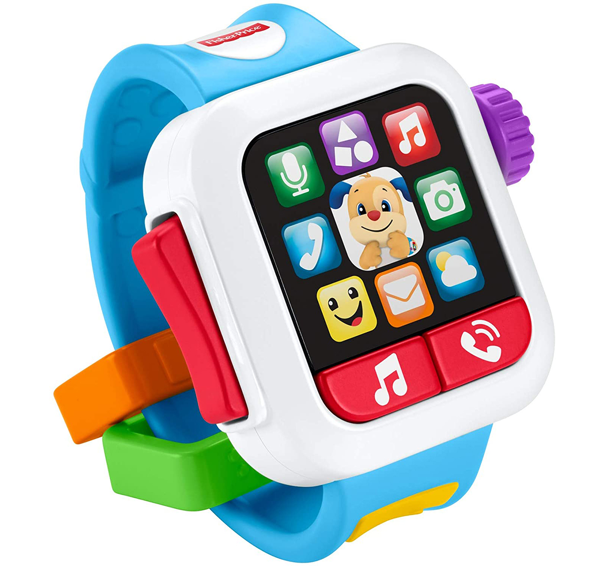 Fisher-Price   Fisher-Price Laugh & Learn Time to Learn Smartwatch Learning Toys for Kids age 6M+