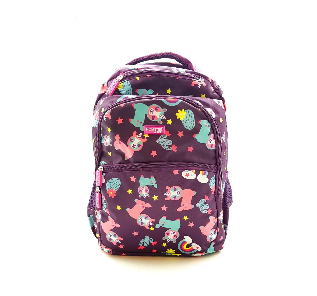 Hamster London | Hamster London Llama Backpack Travel for Kids Age 3Y+ (Purple)
