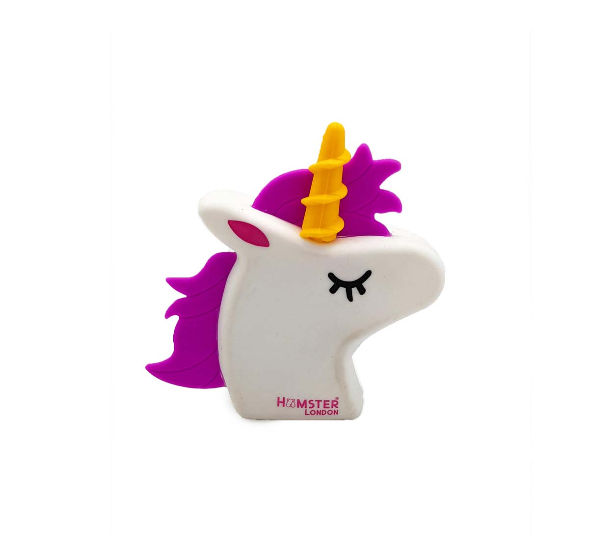 Hamster London | Hamster London Silicone Pouch Unicorn Bags for Girls Age 3Y+ (White)