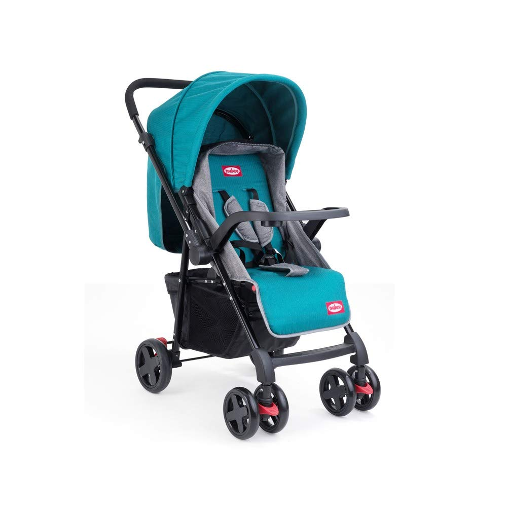 Mothercare | Nuluv Reversible Baby Stroller Blue