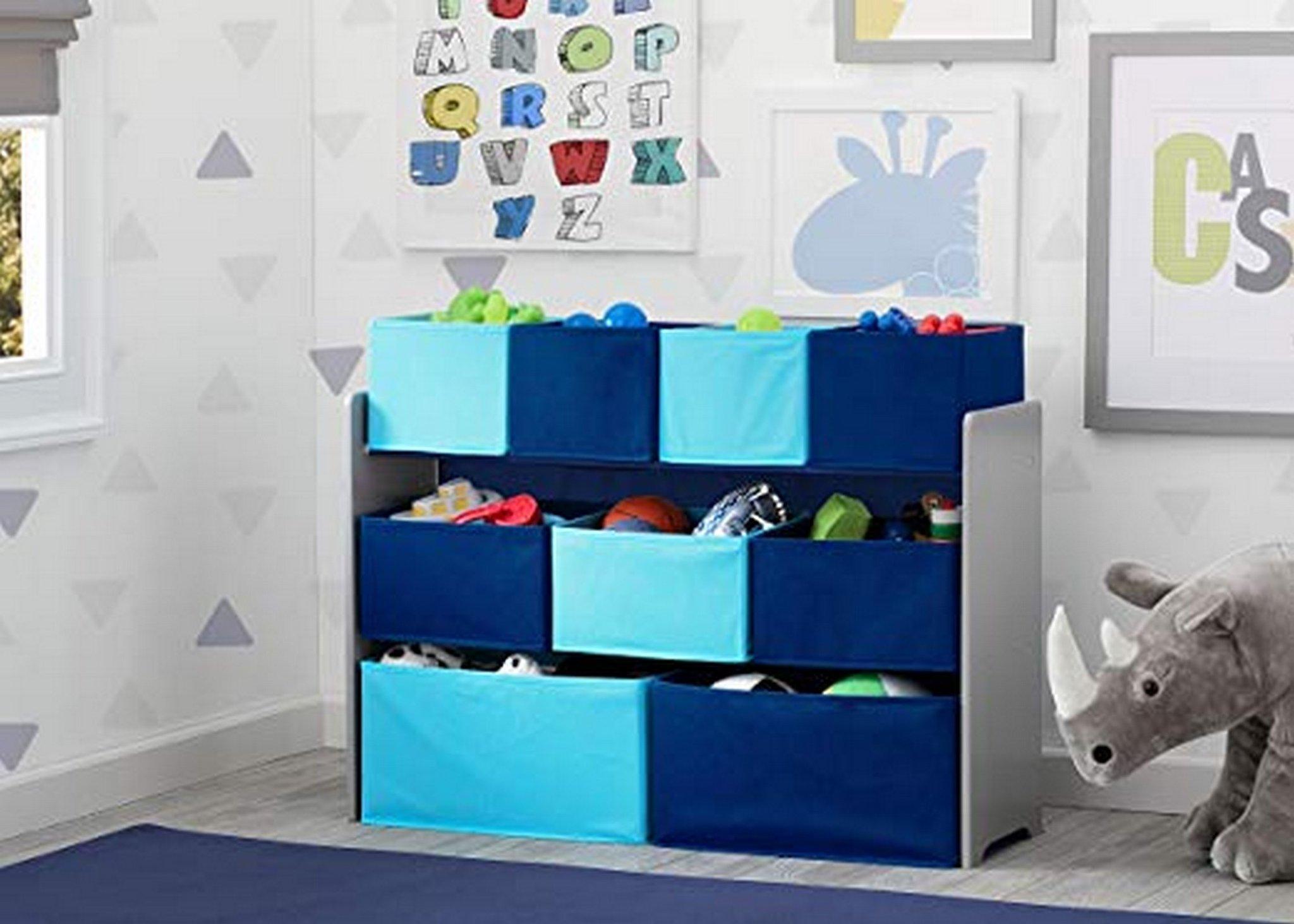 Mothercare | Delta Children Deluxe Toy Organizer Blue