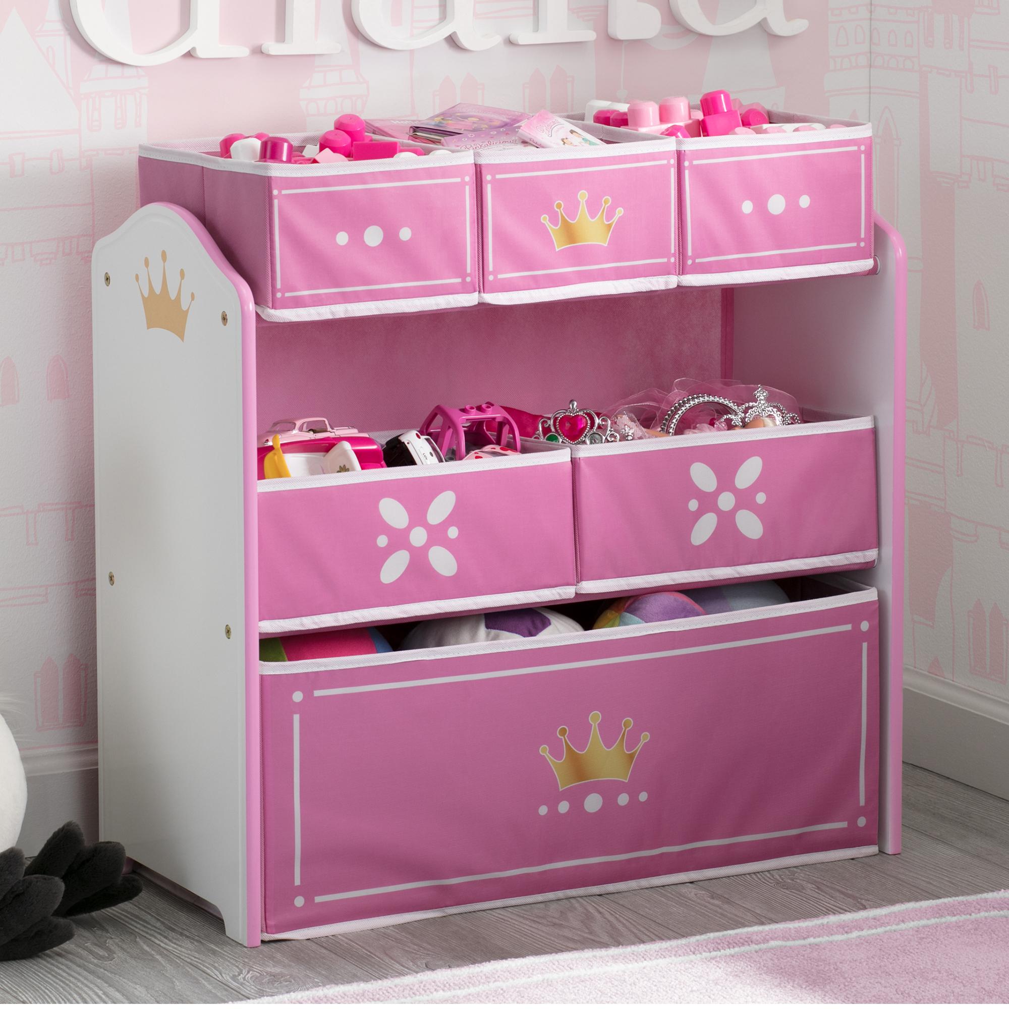 Mothercare | Delta Children Princess  Toy Organizer