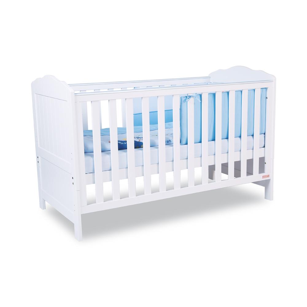 Mothercare | Papacare Capri Cotbed White