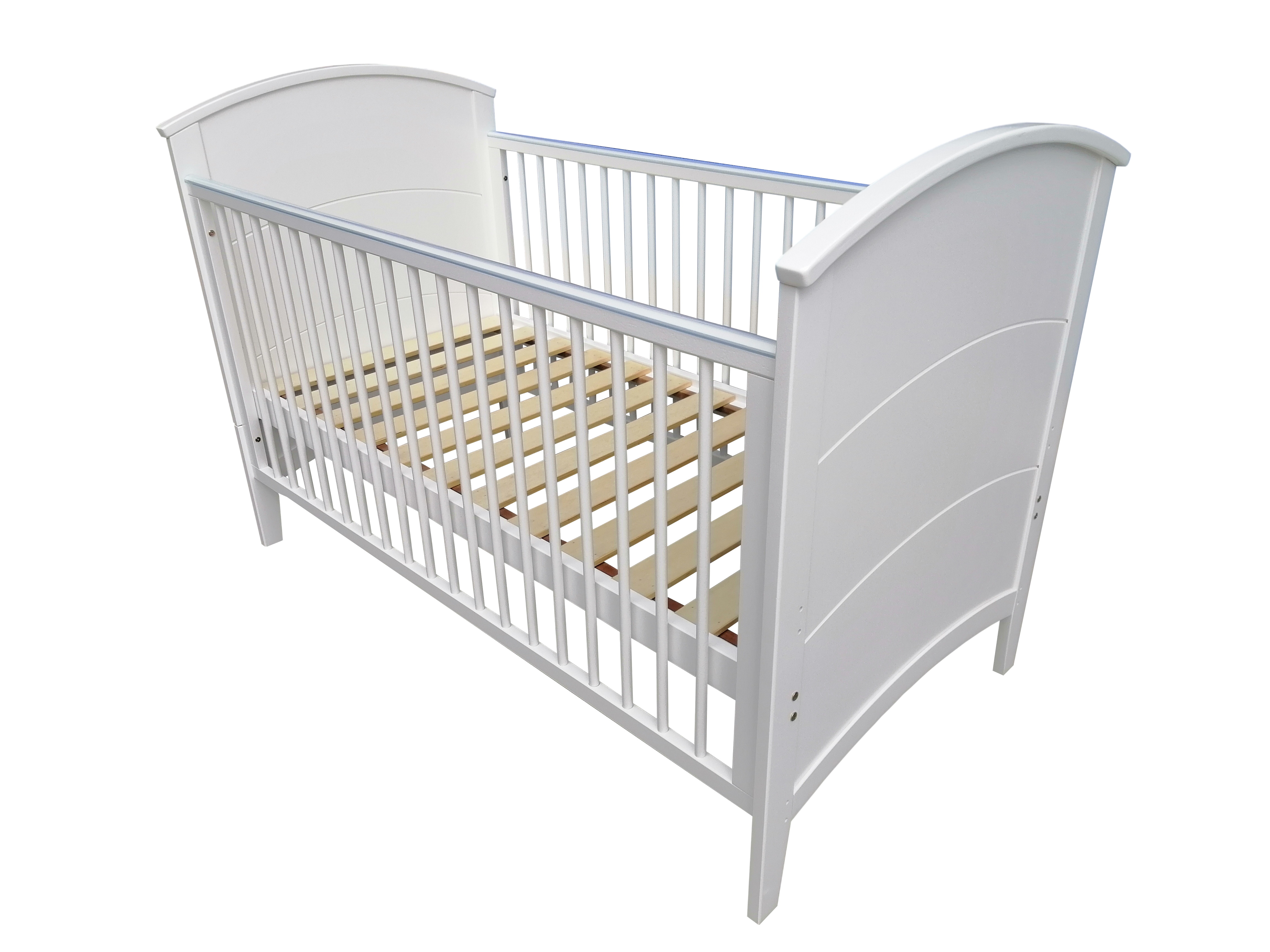 Mothercare | Papacare Alfie Cotbed White