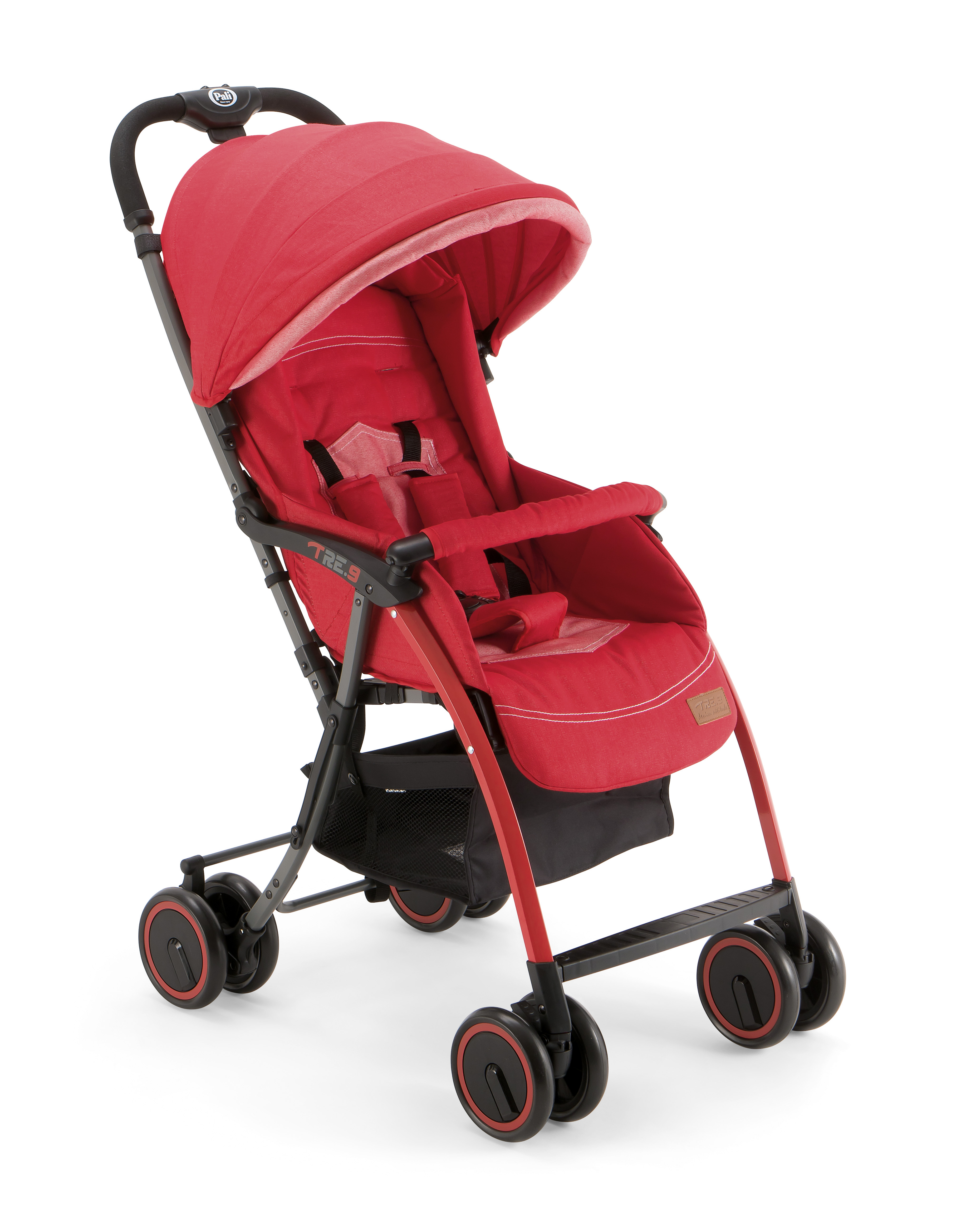 Mothercare   Pali Tre.9  Baby Stroller Red