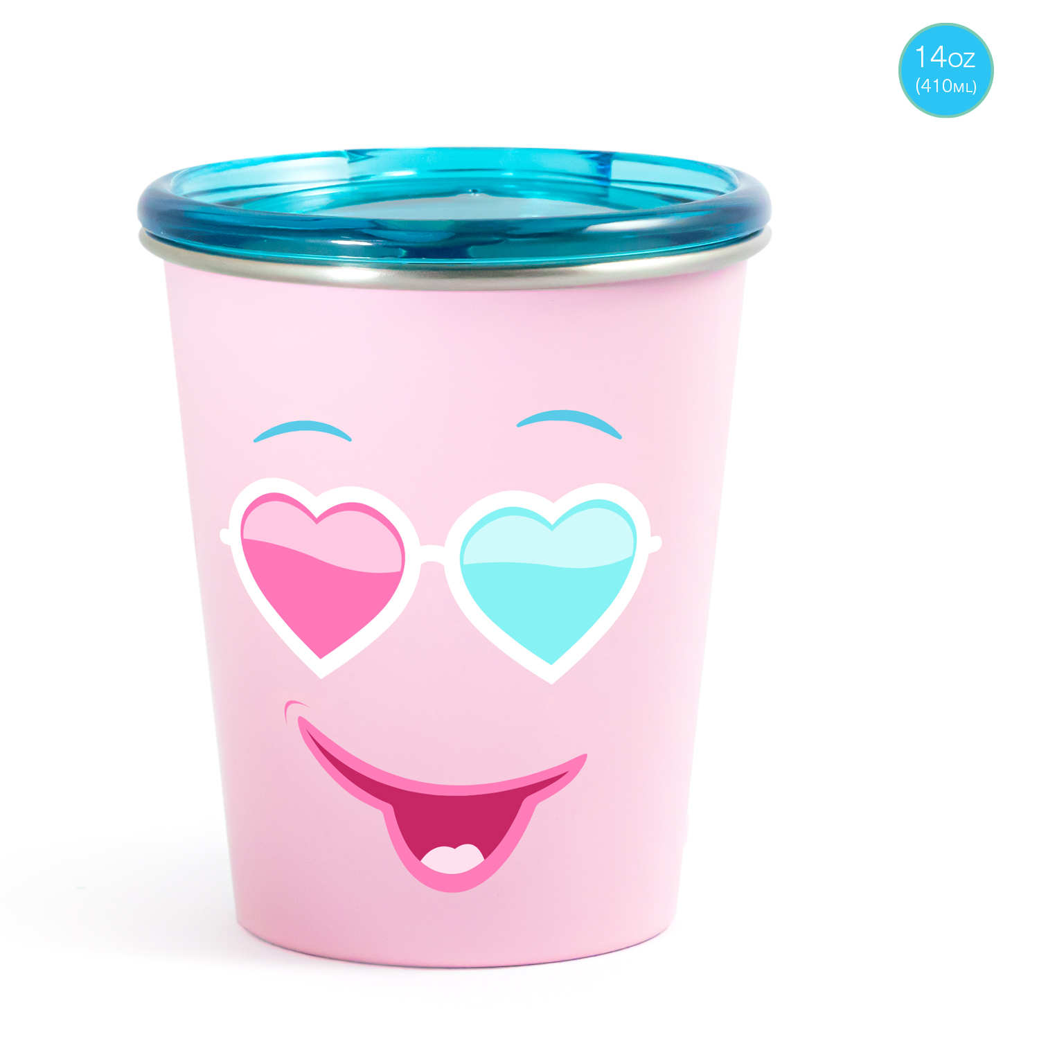 Mothercare   Rabitat Spill Free Stainless Steel Cup - Diva