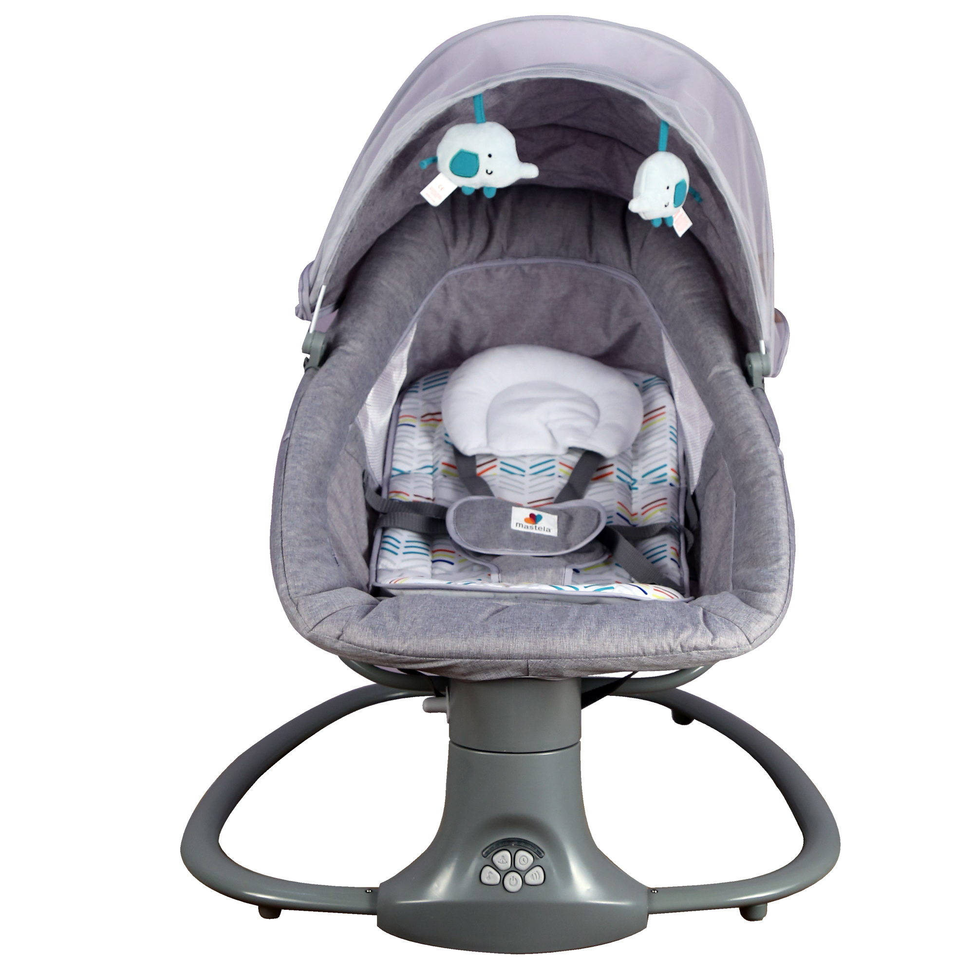 Mothercare | Mastela Deluxe Multi-Function Swing 8104 Grey