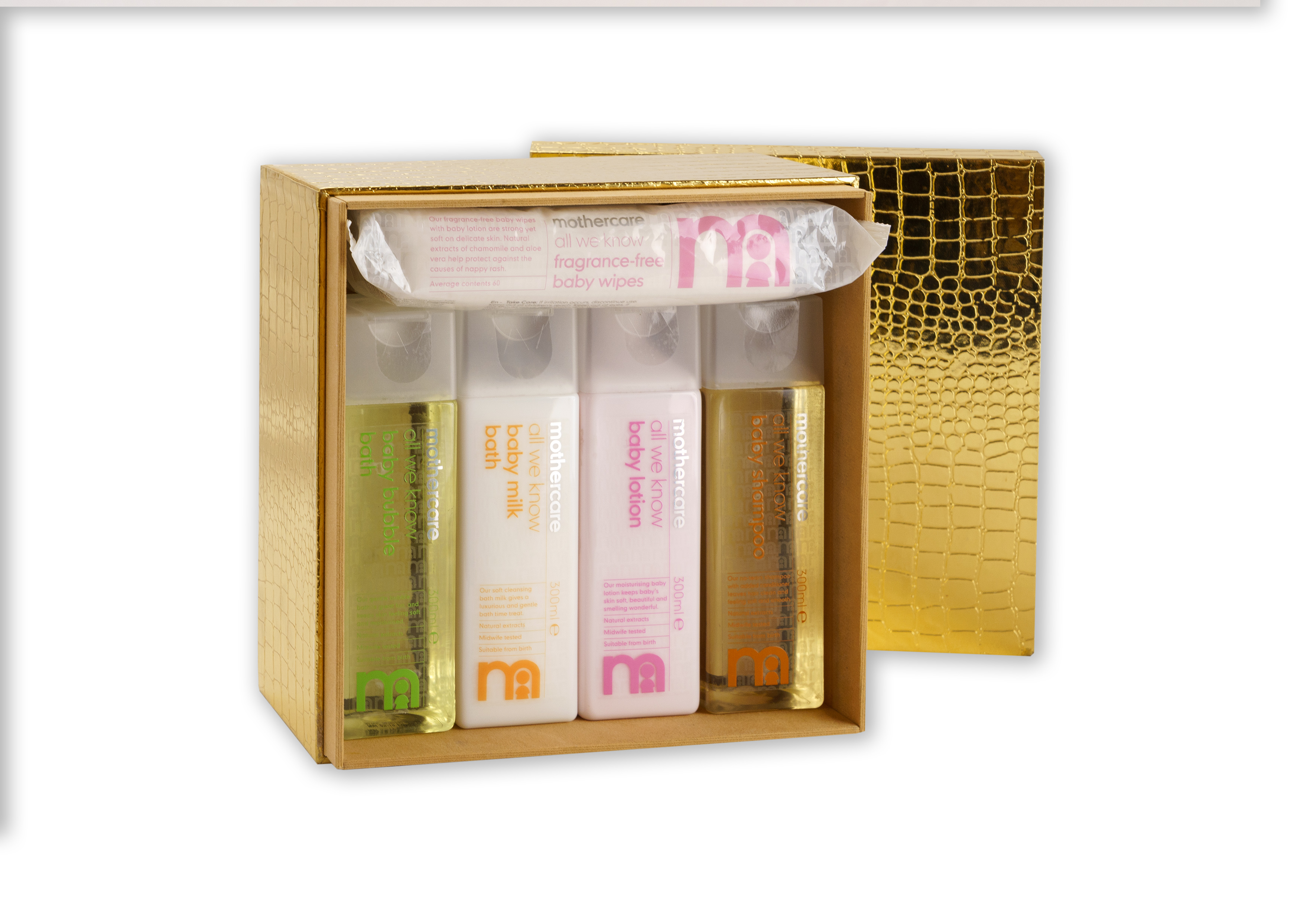 Mothercare | Mothercare Gift Basket Golden Pack Of 5- Op 4