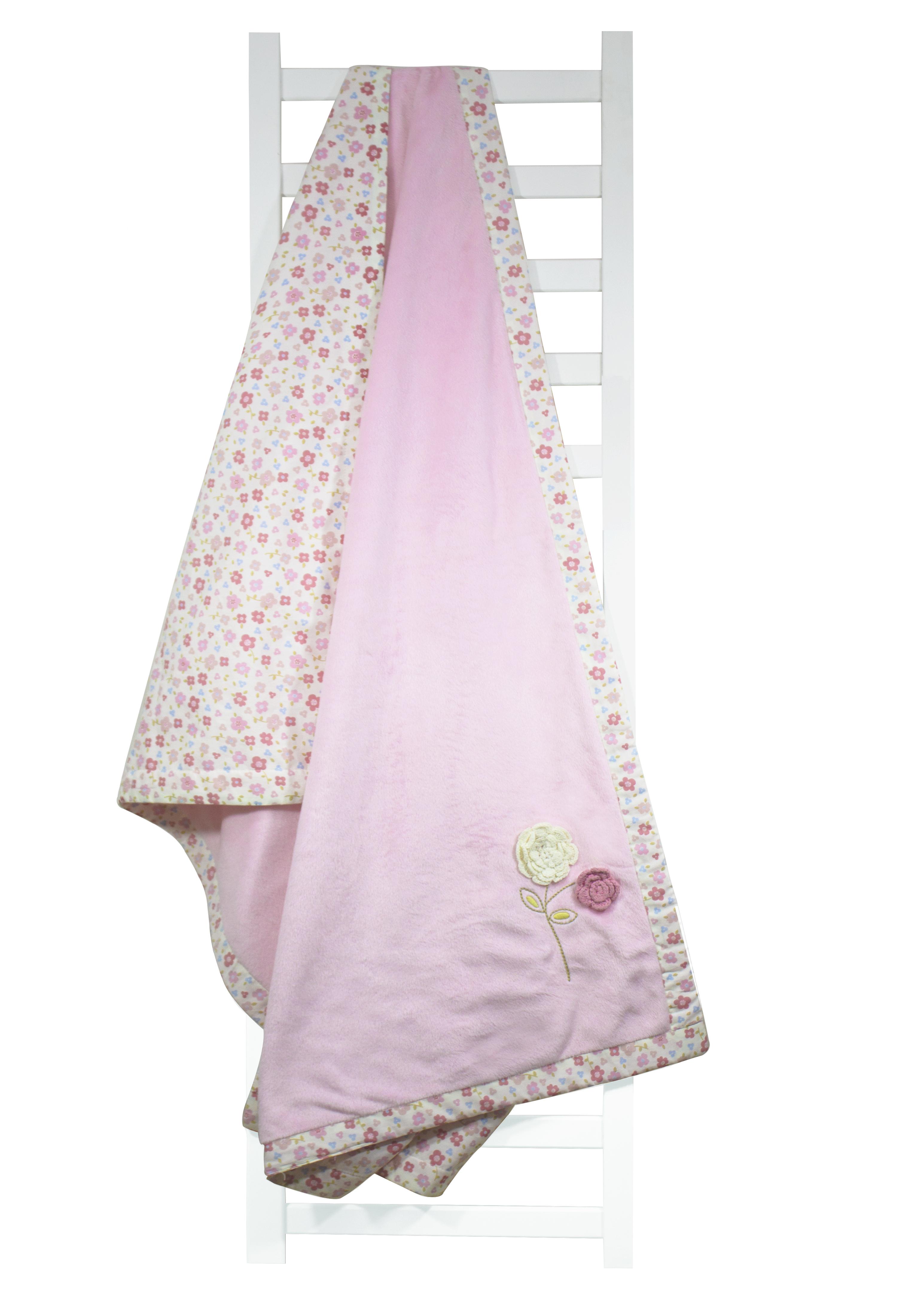 Mothercare | Abracadabra Plush Blanket - Vintage Floral