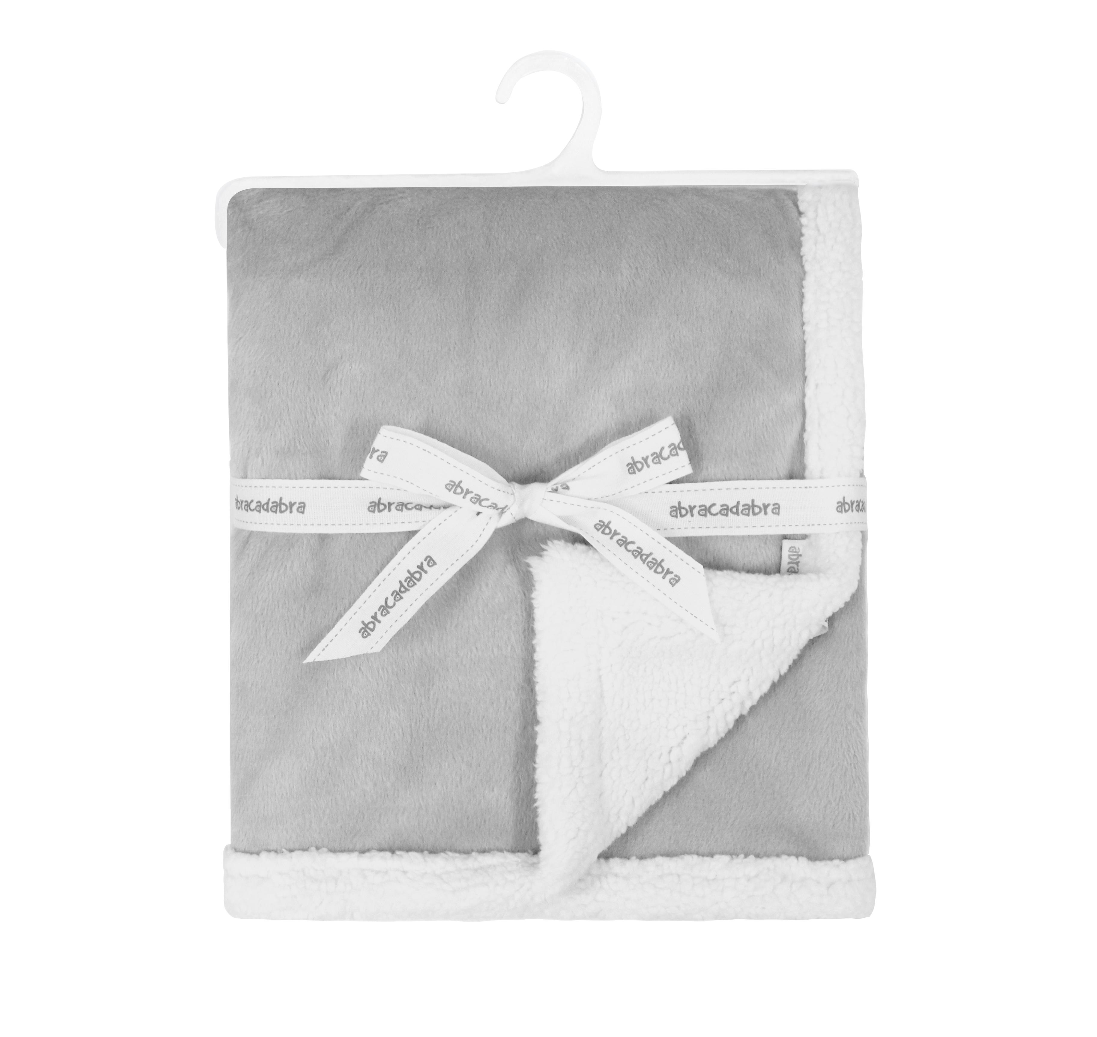 Mothercare   Abracadabra Chamois Blanket - Grey