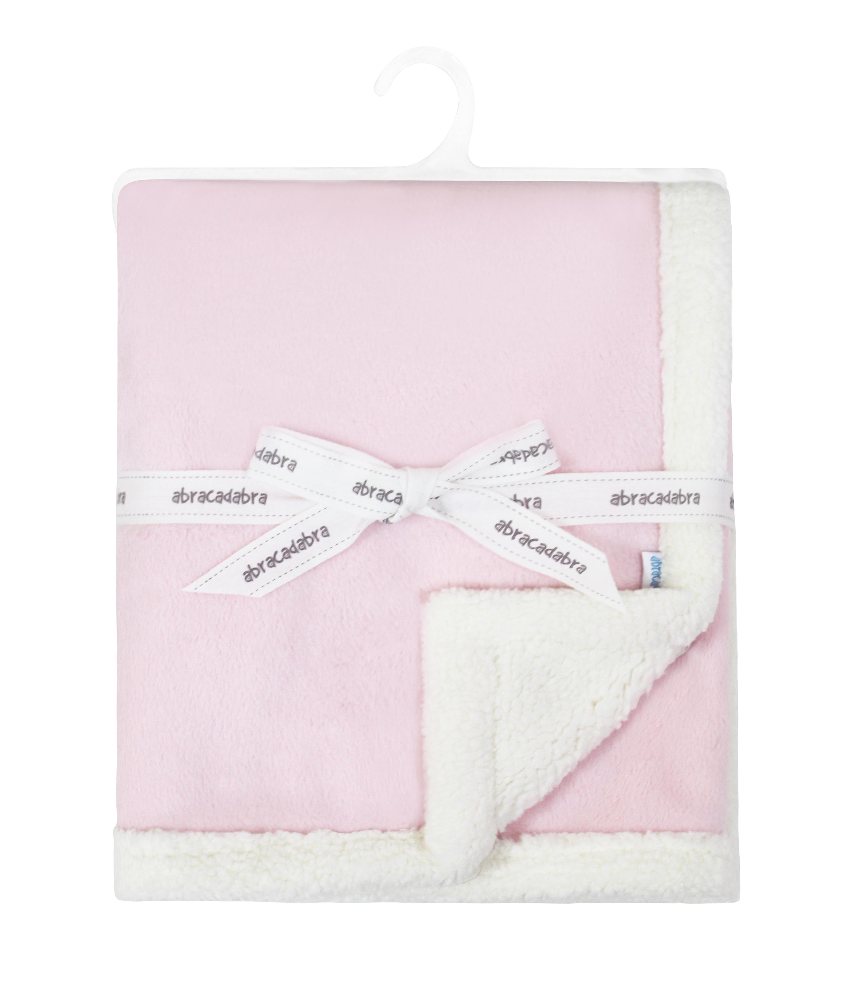 Mothercare | Abracadabra Chamois Blanket - Pink