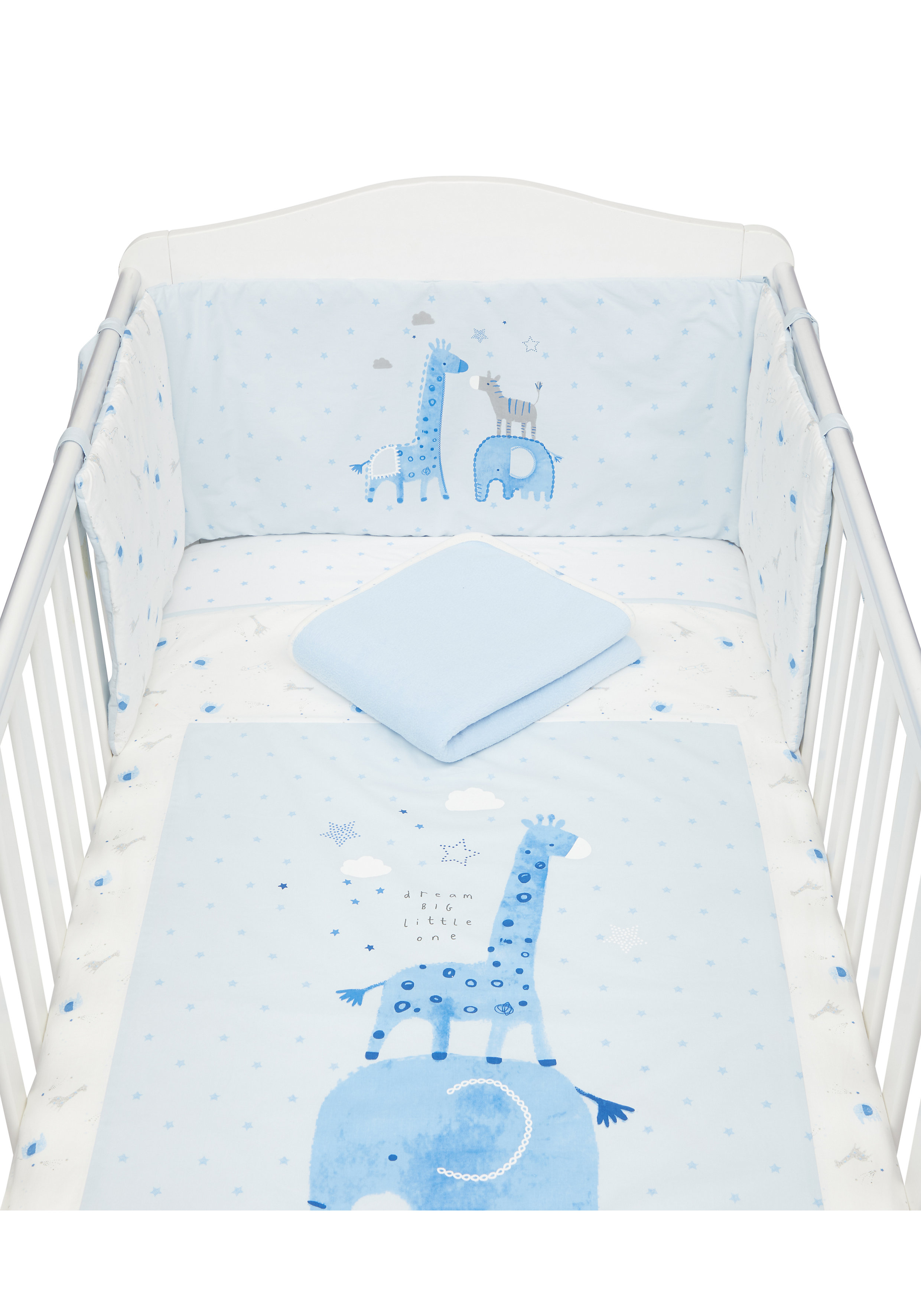 Mothercare   Mothercare MY First Blue Bedding Set Blue
