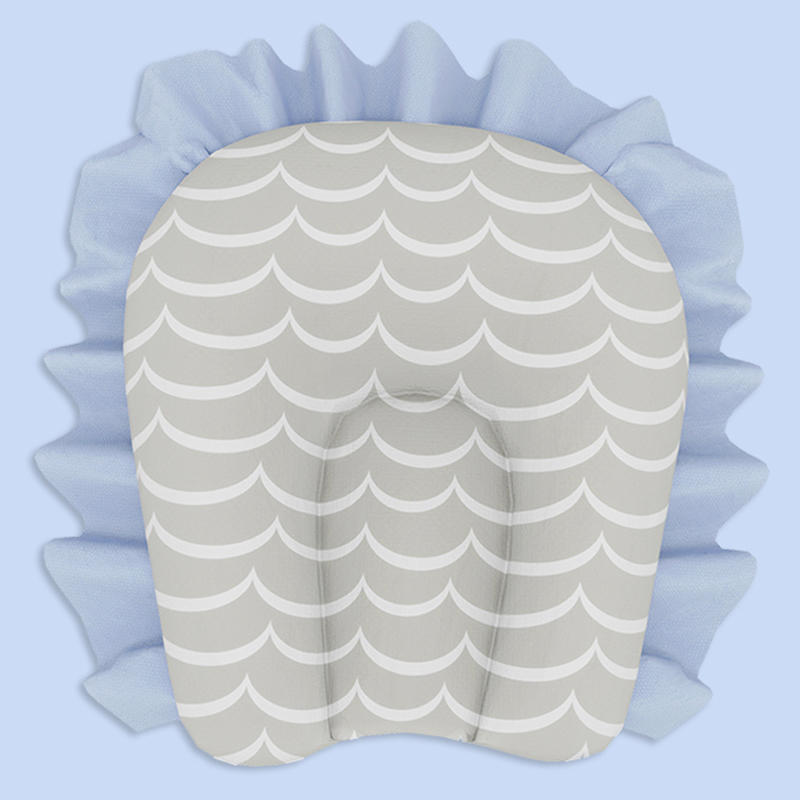 Mothercare   Fancy Fluff Organic U-Pillow - Arctic