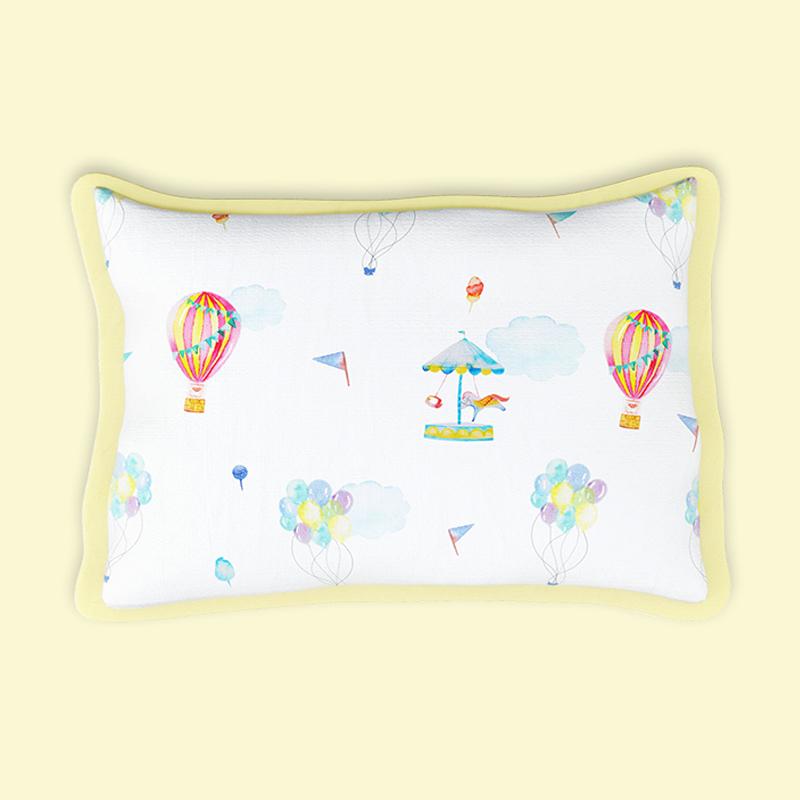 Mothercare   Fancy Fluff Organic Rai Pillow -  Carnival