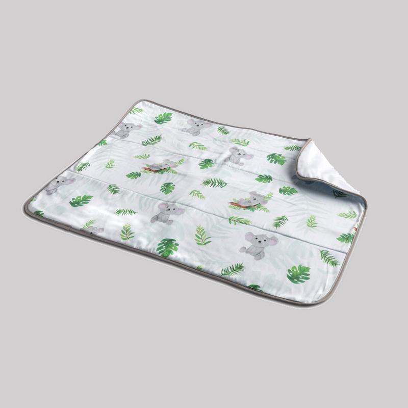 Mothercare   Fancy Fluff Organic Bed Protector - Koala