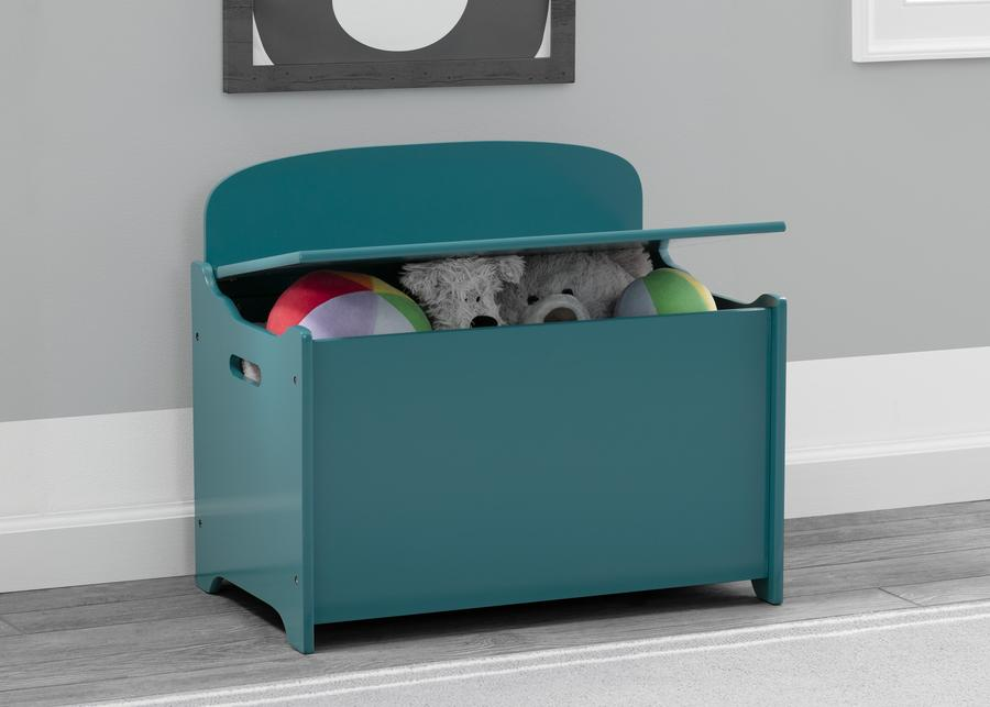 Mothercare | Delta Children Deluxe Toy Box  Teal