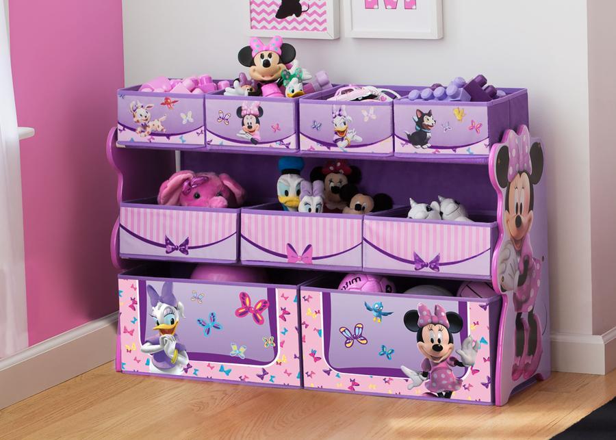 Mothercare | Delta Children Minnie Mouse Deluxe Bin Organizer Multi