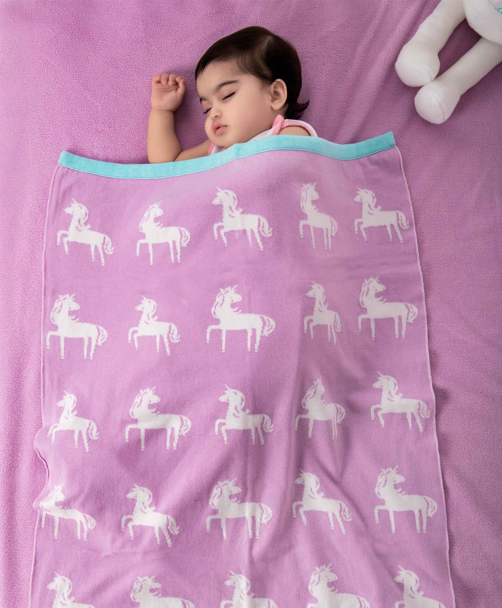 Mothercare | Mi Arcus Premium Organic Cotton Mini Me Blanket Pink