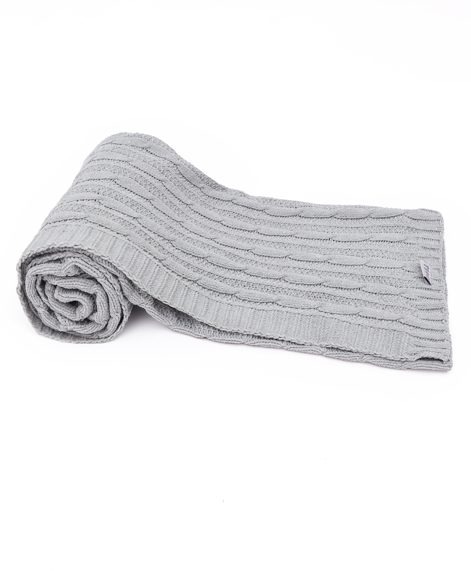 Mothercare | Mi Arcus Cuddle Unisex Cozy Knitted Blanket Blue