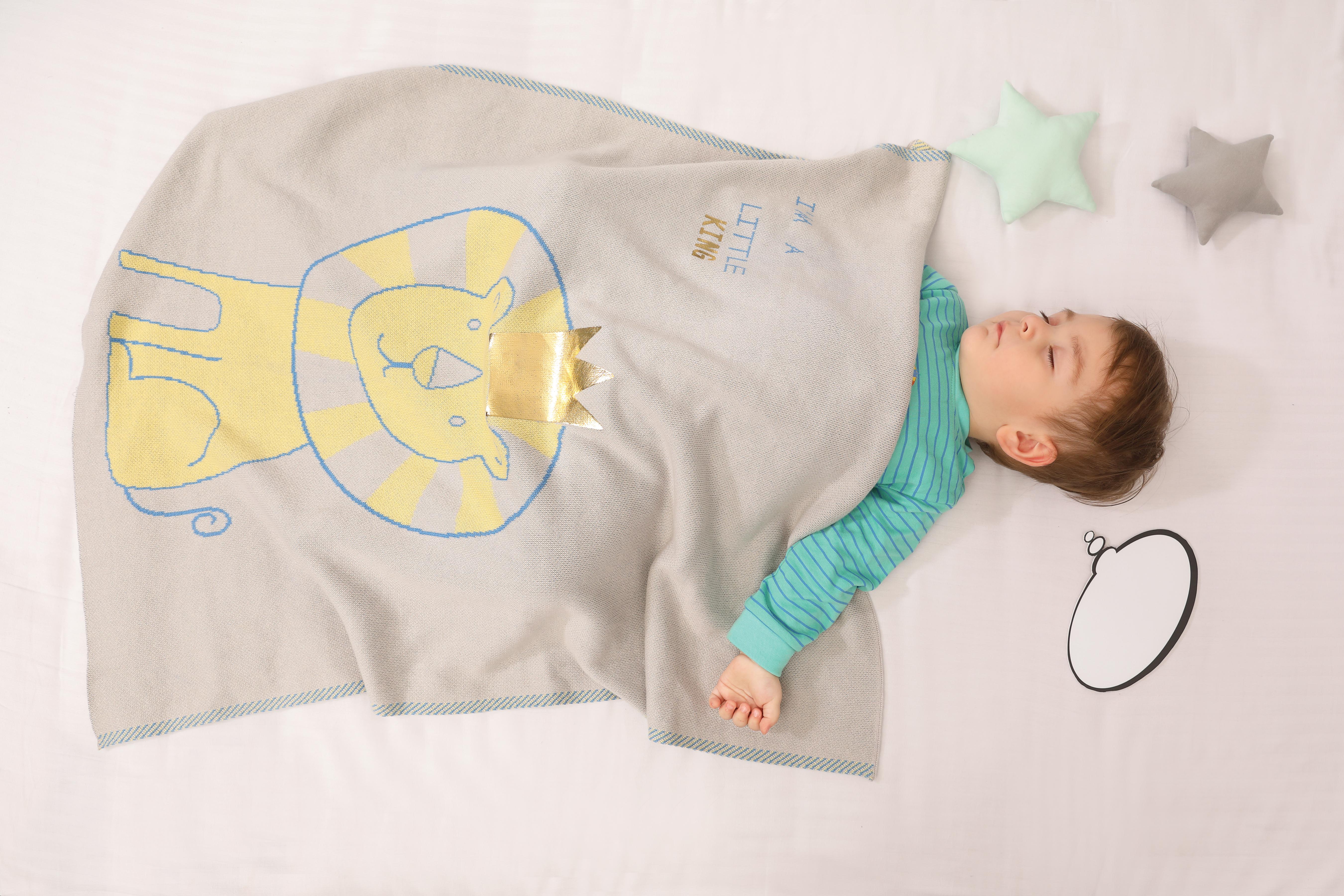 Mothercare   Mi Arcus Premium Organic Cotton Kiddo Blanket Multi