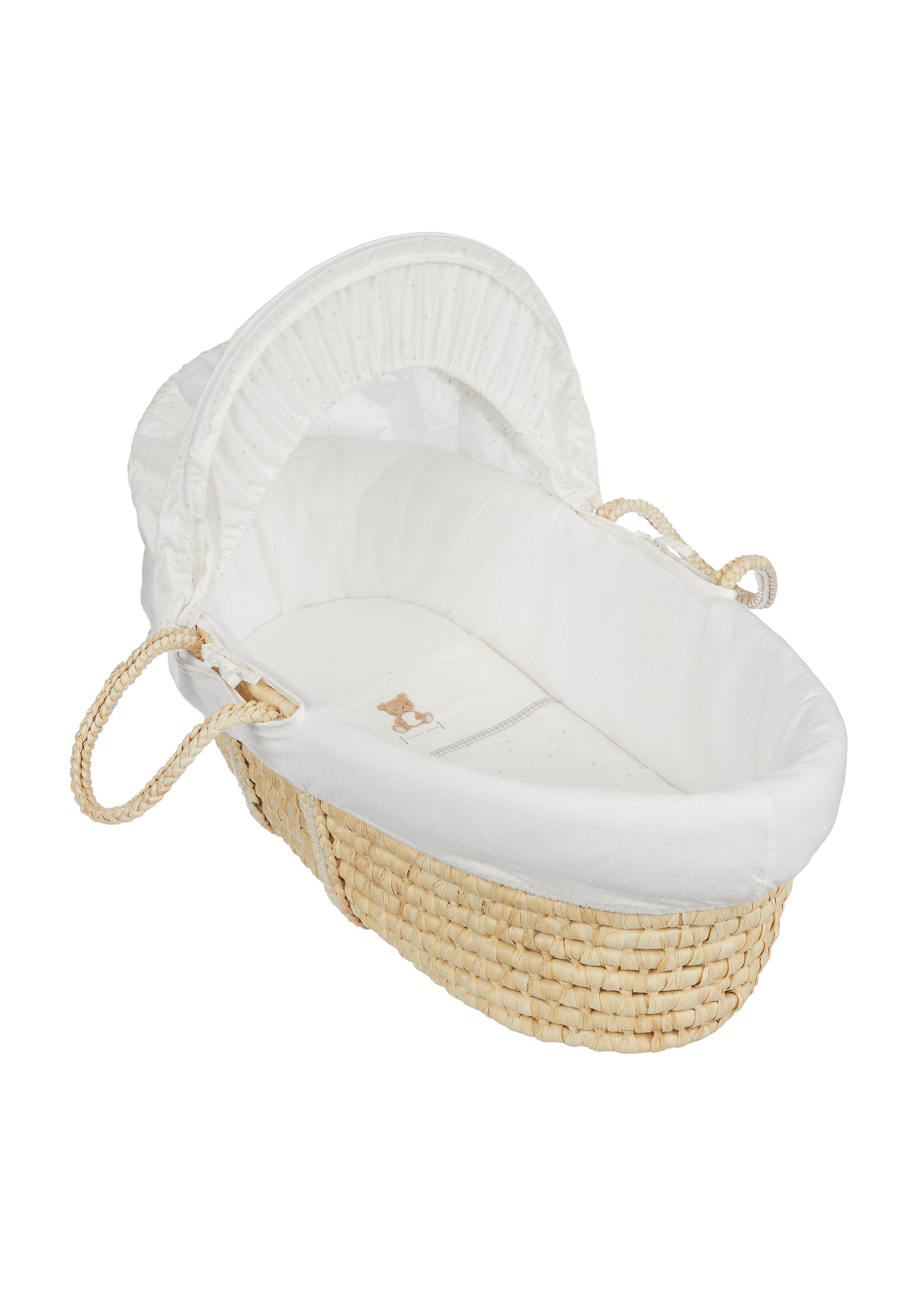 Mothercare | Mothercare Little&Loved Moses Basket Bed Cream
