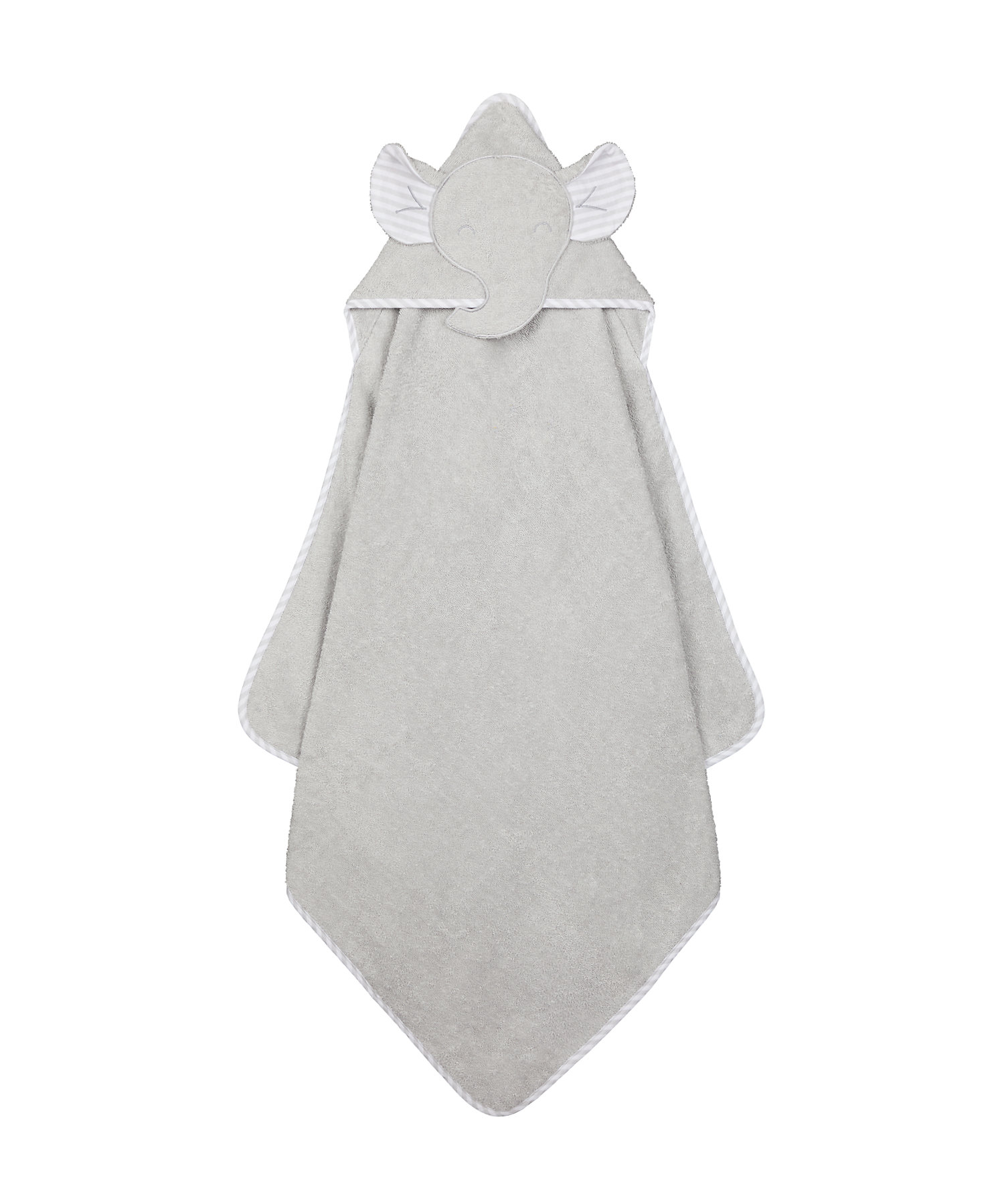 Mothercare | Mothercare Character Cuddle and Dry Baby Towels Elephant Blue