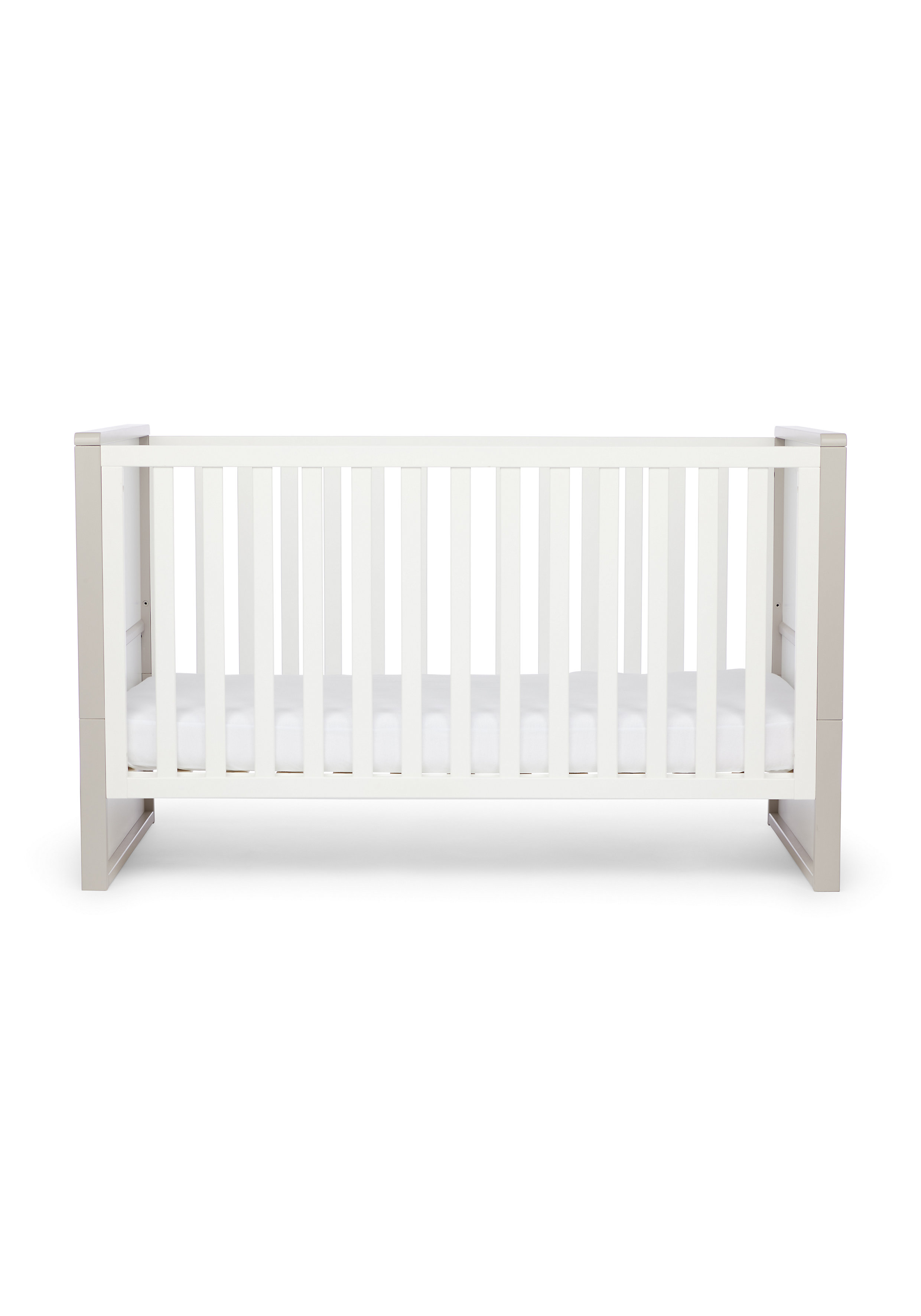 Mothercare | Mothercare Hartland Two Tone Cotbed Grey