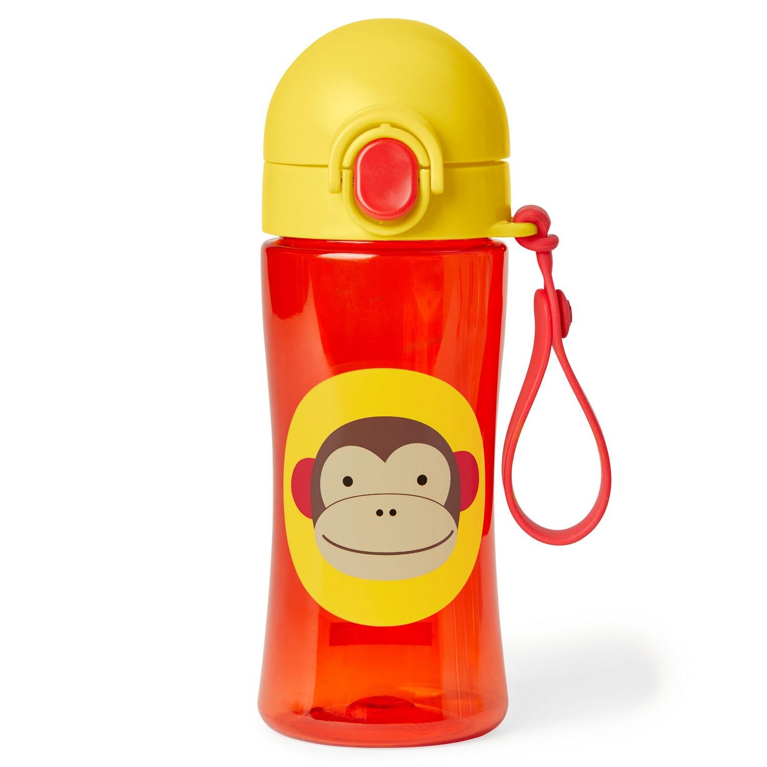Skiphop | Skip Hop Zoo Lock-Top Sports Bottles Brown
