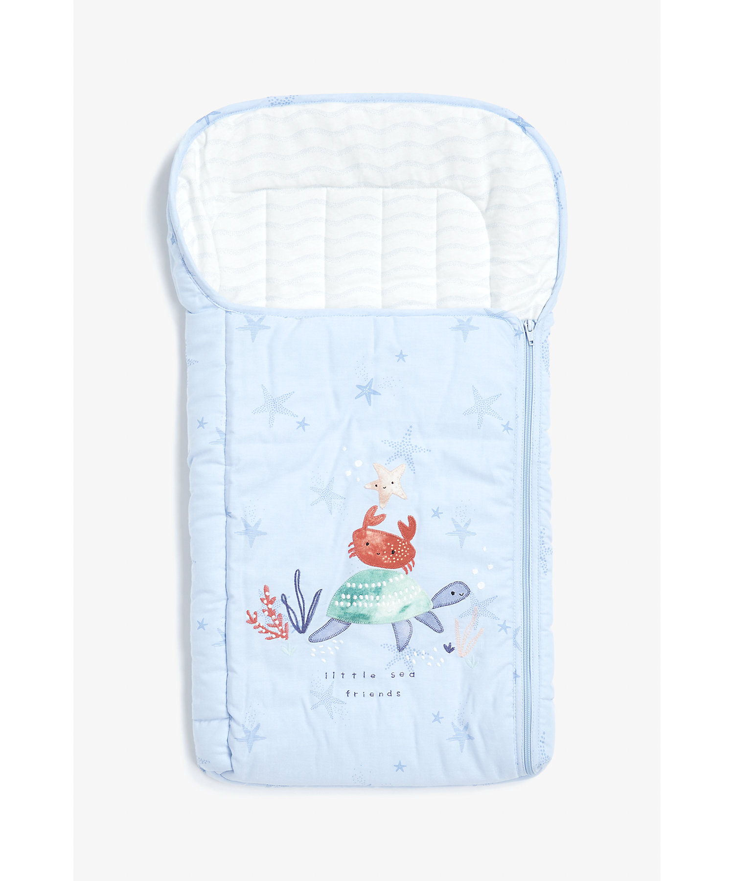 Mothercare | Mothercare You Me & The Sea Presentation Nest Blue