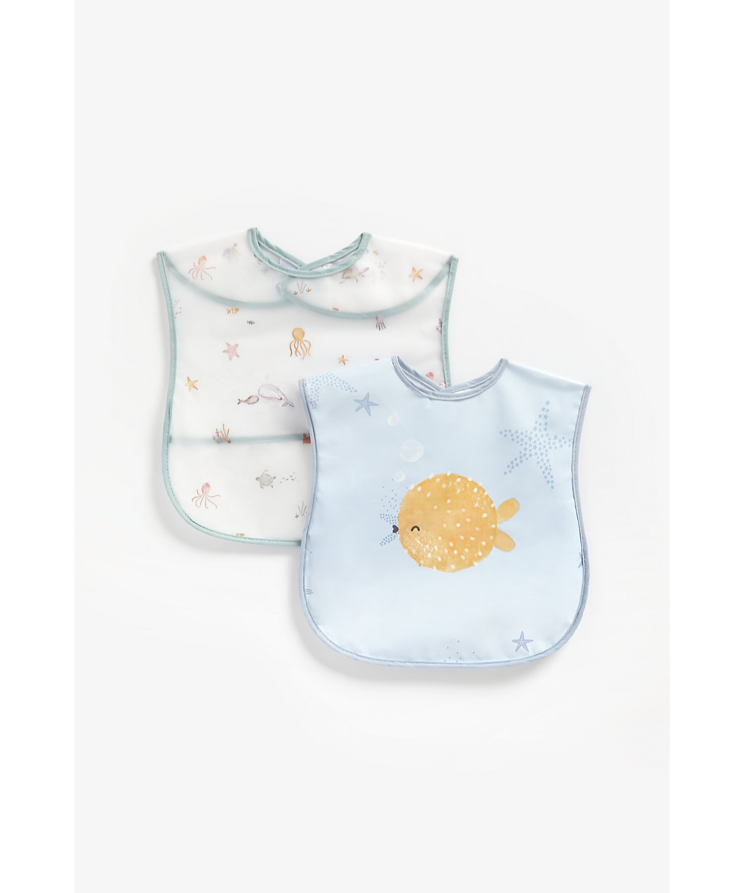 Mothercare | Mothercare You Me & The Sea Pack of 2 Crumb Catchers Multicolor