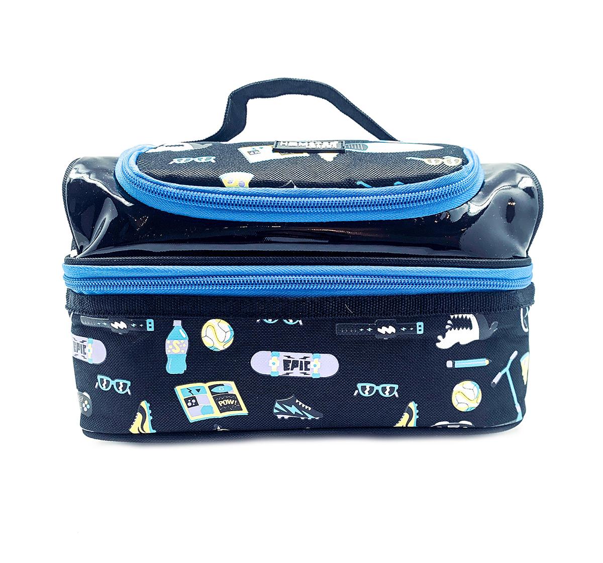 Hamster London | Hamster London Beach Theme Lunch Bag for Kids age 3Y+ (Black)