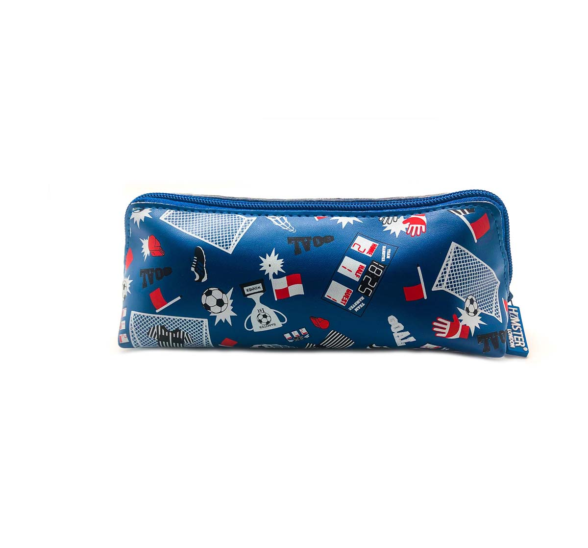 Hamster London | Hamster London Triangle Pouch Football Bags for Boys Age 3Y+ (Blue)