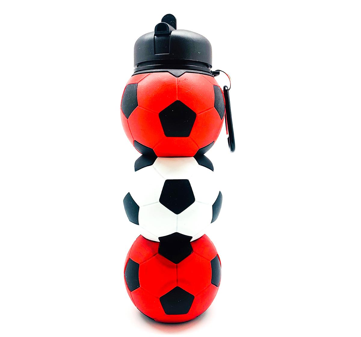 Hamster London   Hamster London Football Bottle  for Kids age 3Y+, Red