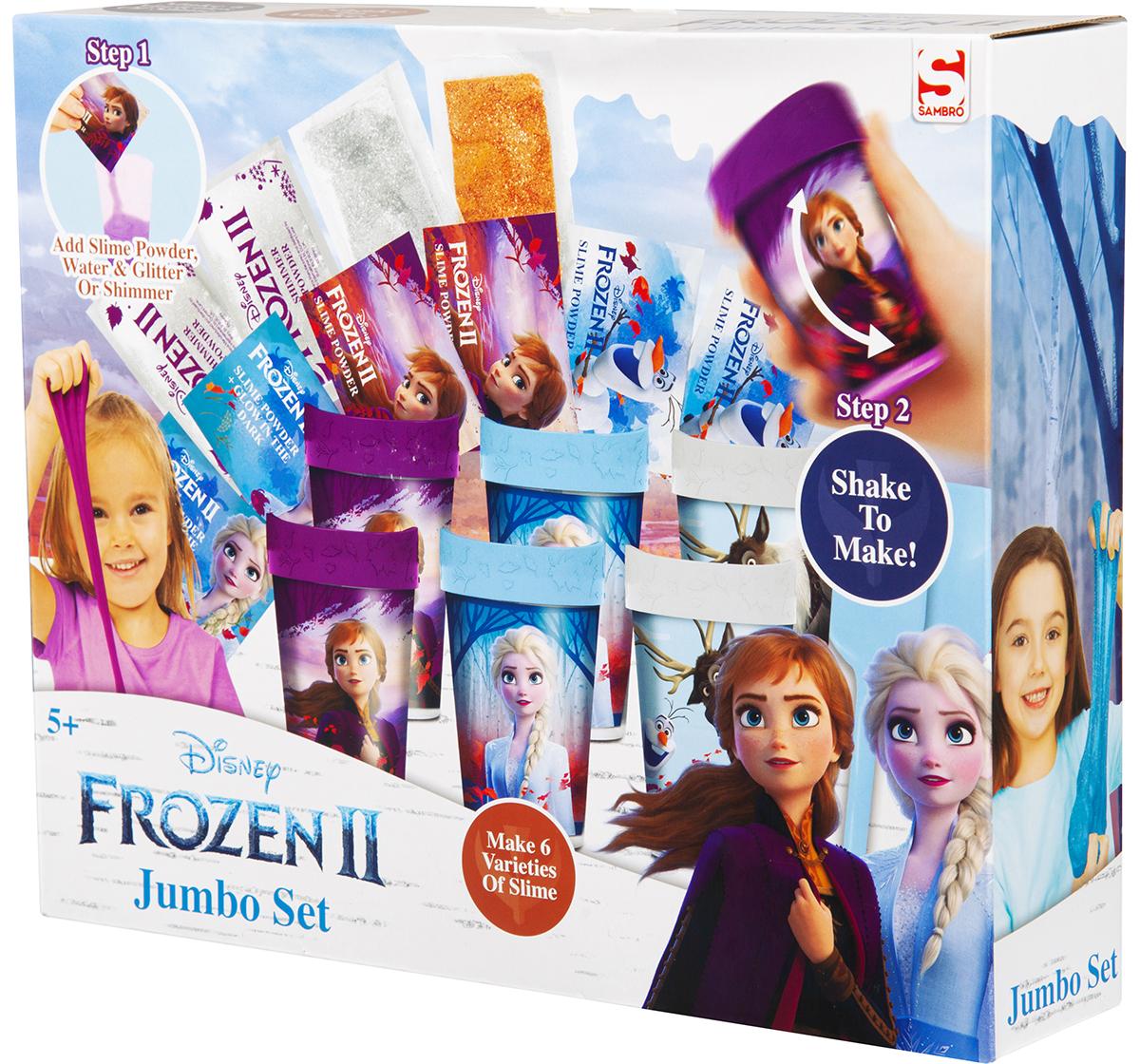 Disney   Disney Frozen2 Slime Jumbo Set DIY Art & Craft Kits for Girls age 5Y+