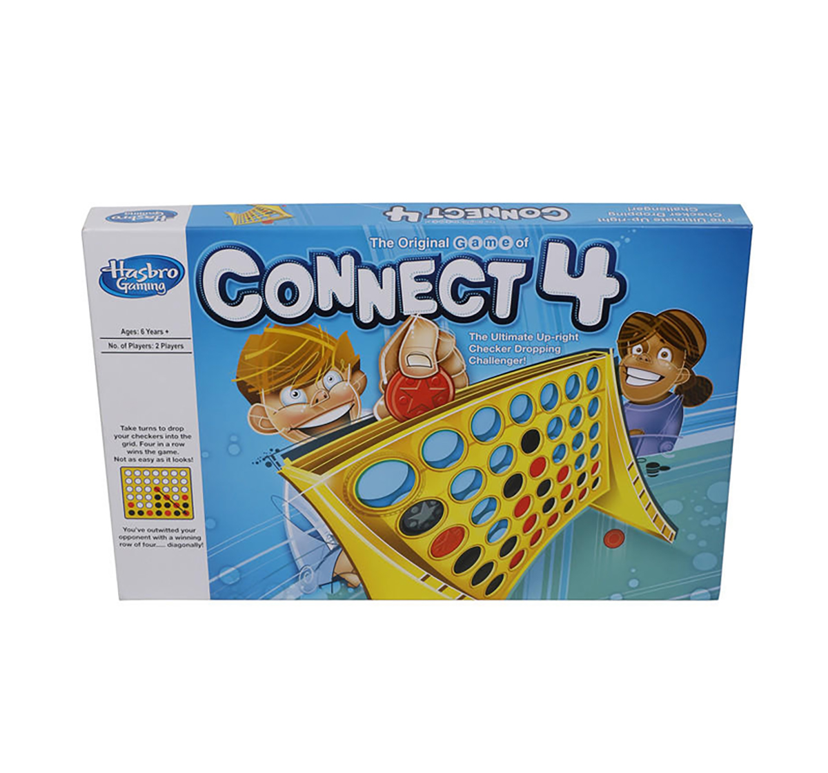 Hasbro Gaming   Hasbro Connect 4 Classic Grid Board Games for Kids age 6Y+