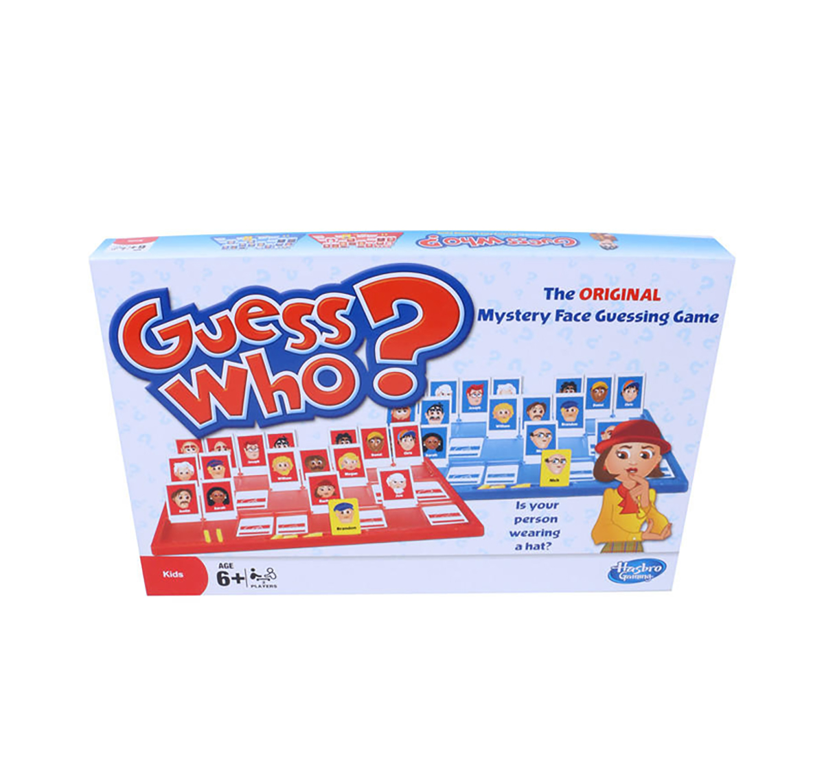 Hasbro Gaming   Hasbro Guess Who - Original Classic Guessing Board Games for Kids age 6Y+