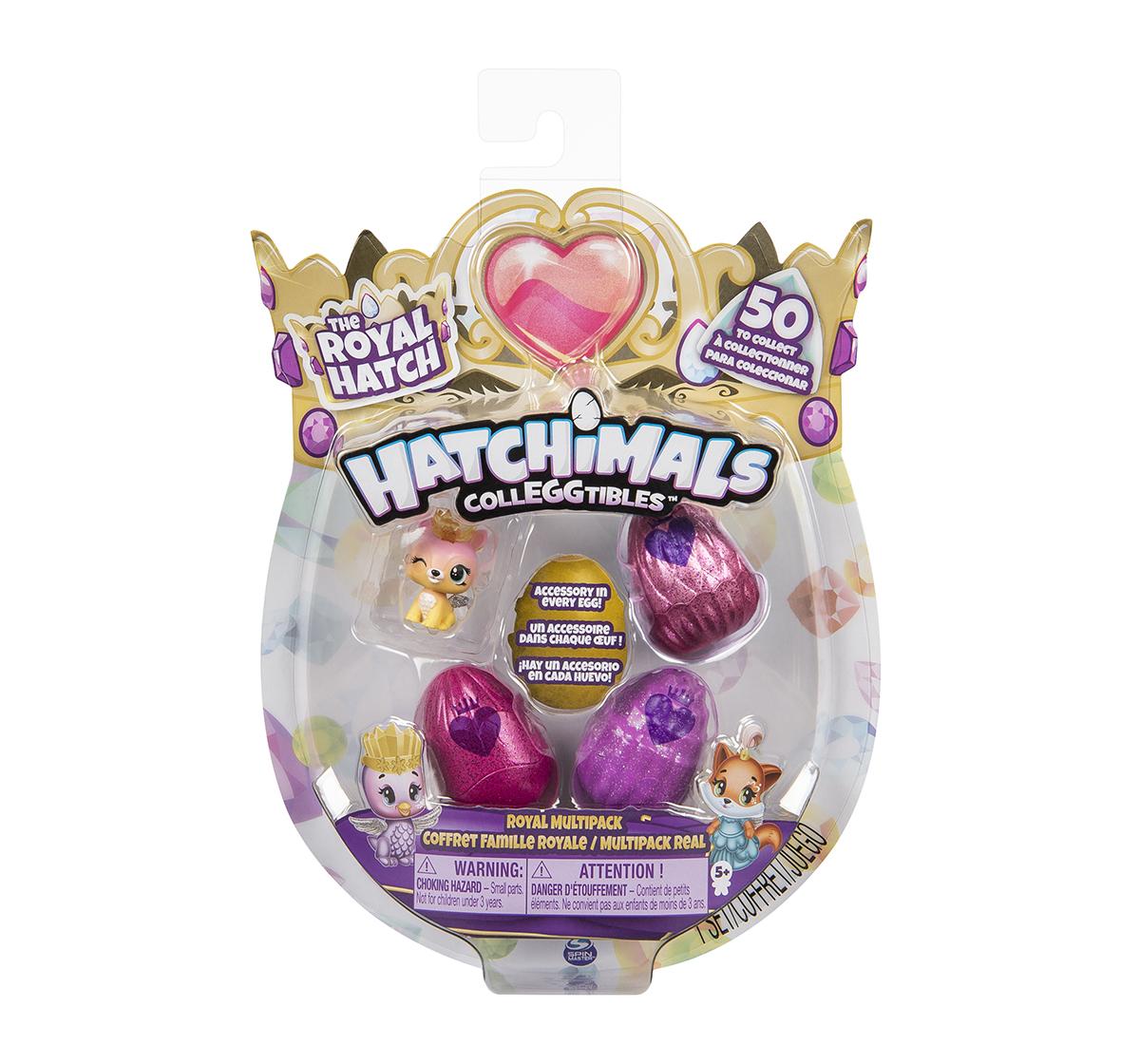 Hatchimals | Hatchimals Colleggtibles Season 6 4 Pack + Bonus Novelty for Girls age 5Y+ - 22.86 Cm