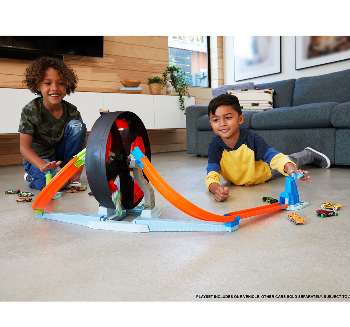 Hot Wheels   Hot Wheels Spinwheel Challenge Playset, Unisex, 4Y+ (Multicolor)