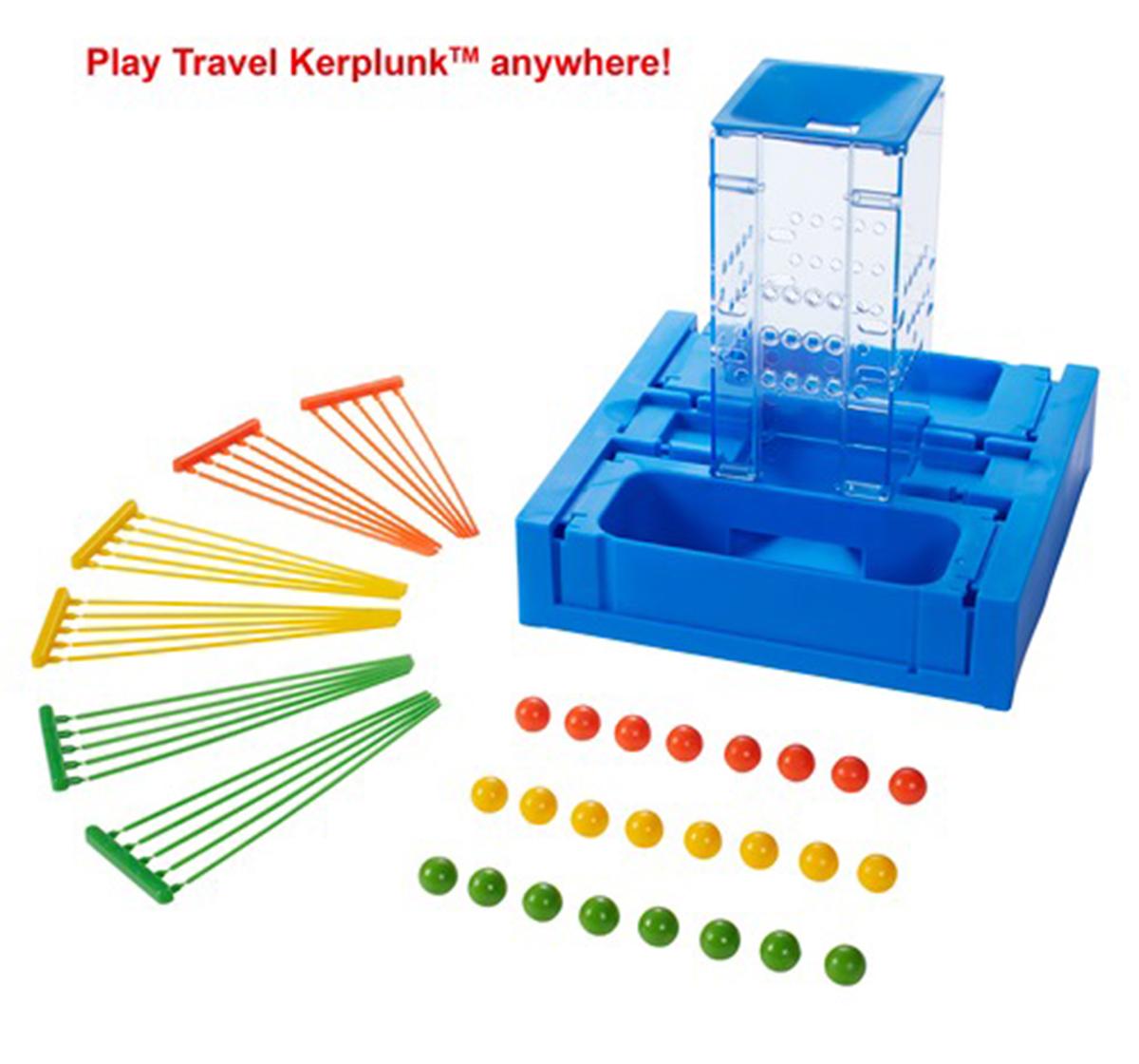Mattel | Mattel Games Travel Kerplunk, Unisex, 6Y+ (Multicolor)