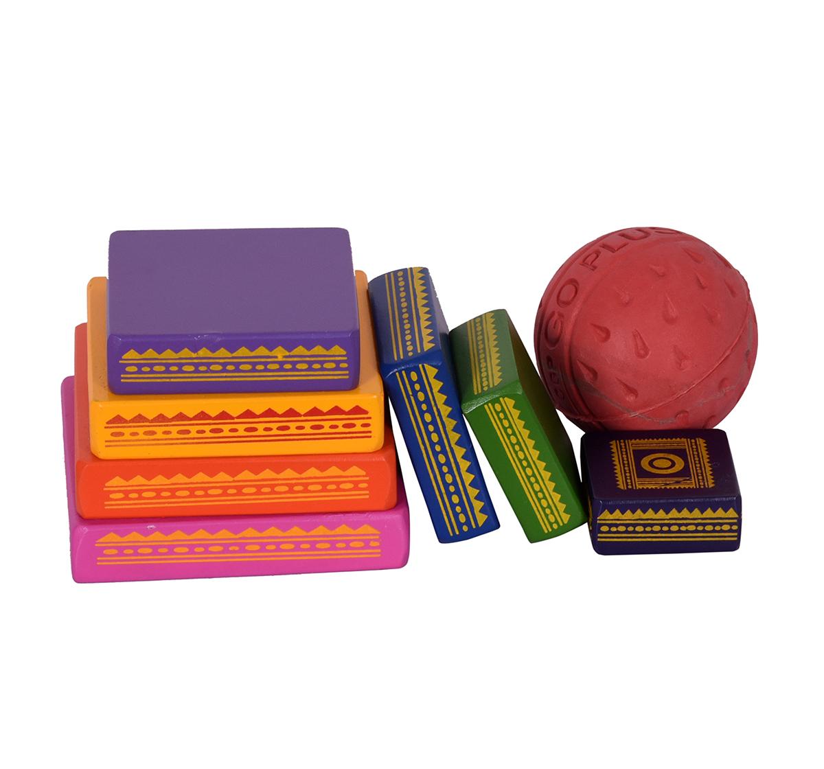 Desi Toys | Desi Toys  Seven Stone, Lagori Game for Kids age 5Y+ - 9.09 Cm