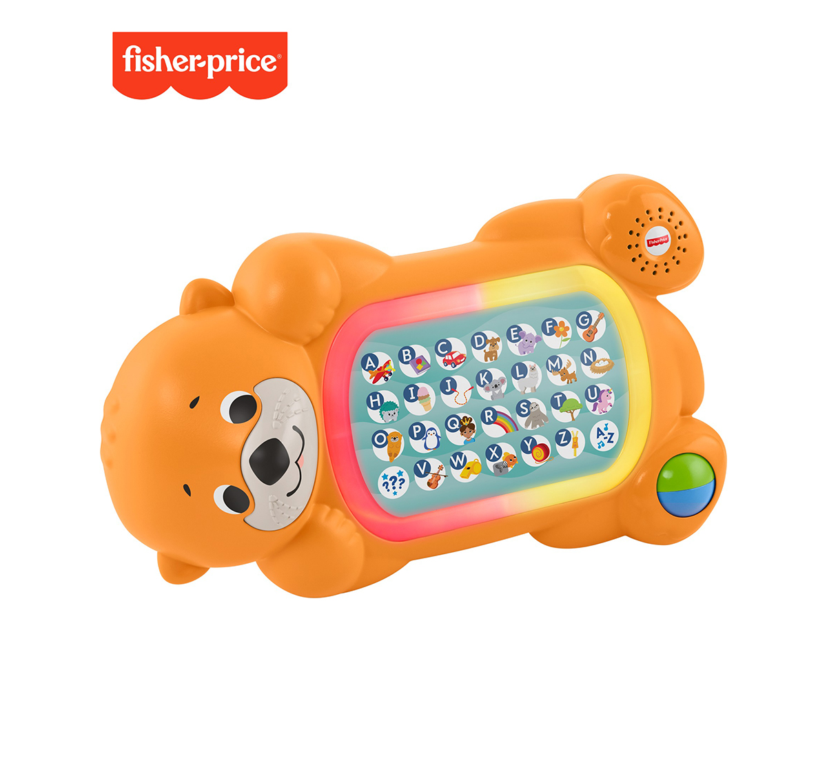 Fisher-Price | Fisher-Price Linkimals A To Z Otter, Learning Toys for Kids age 9M+