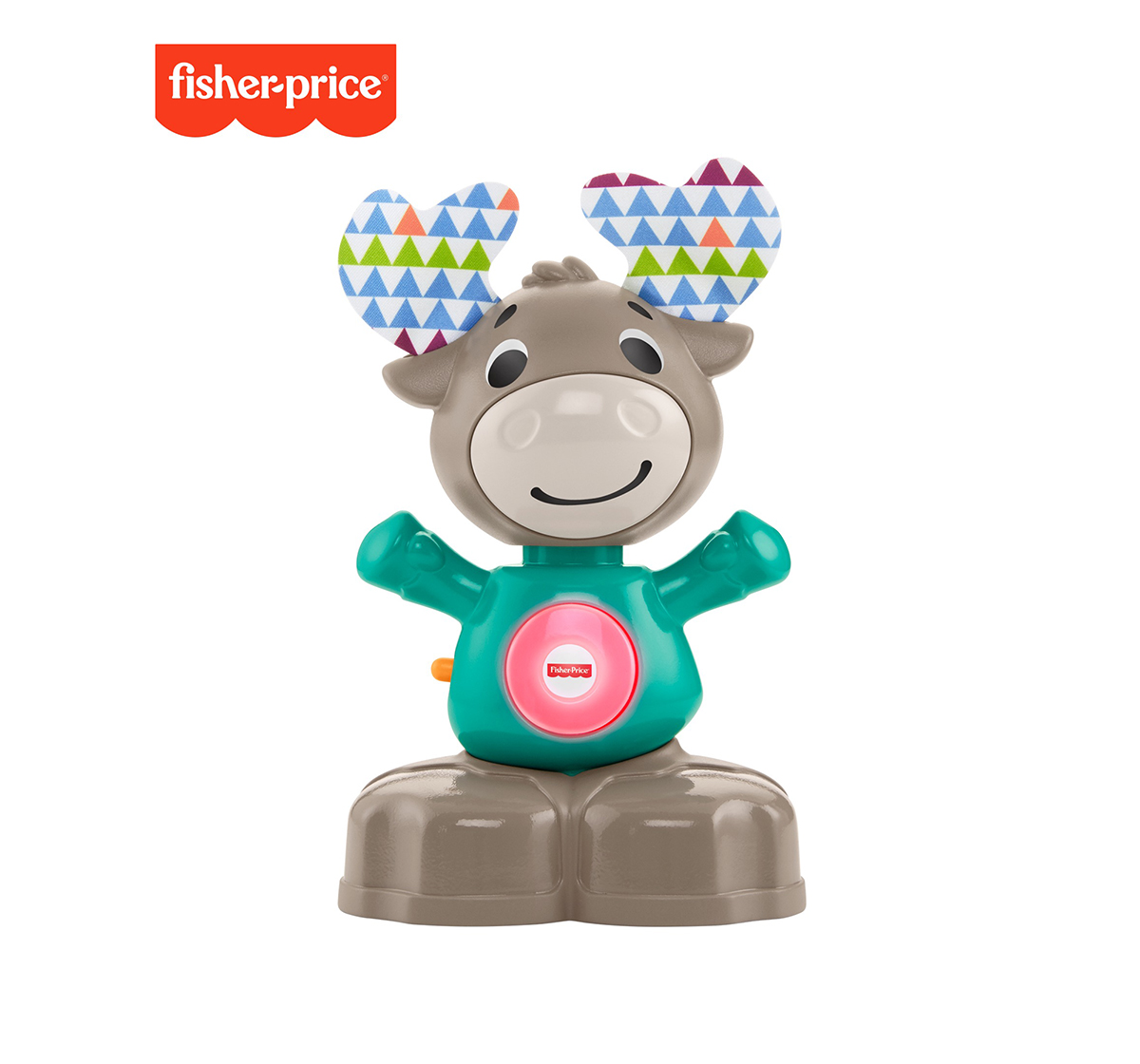 Fisher-Price | Fisher-Price Linkimals Musical Moose, Learning Toys for Kids age 9M+