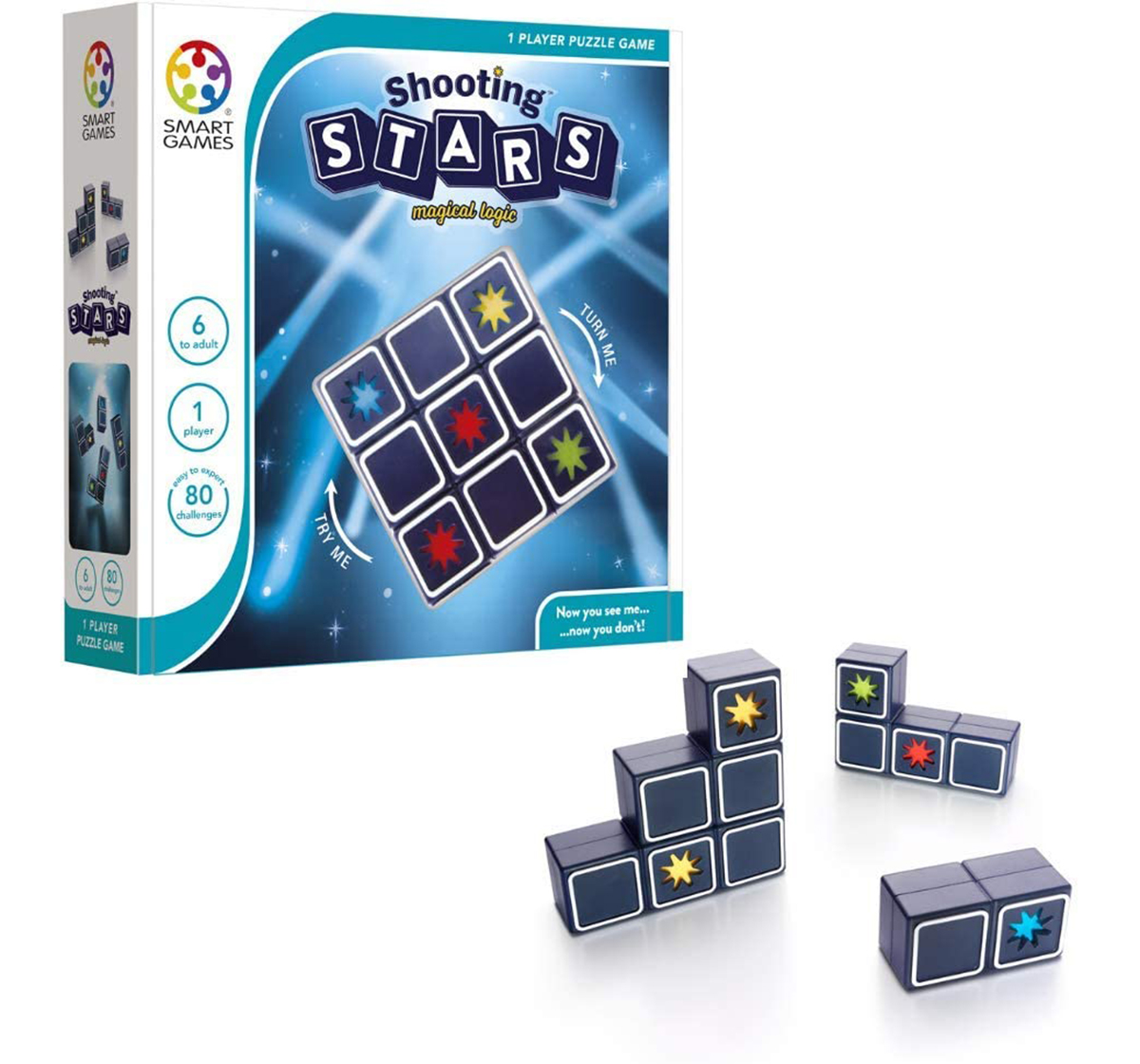 Smart Games | Smartgames Shooting Stars for Kids age 6Y+