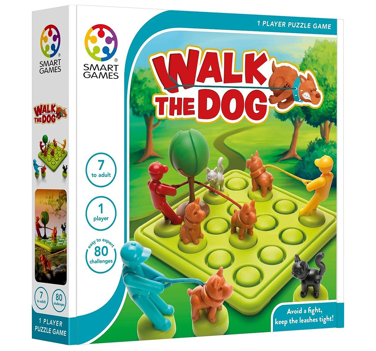 Smart Games | Smartgames Walk The Dog for Kids age 7Y+