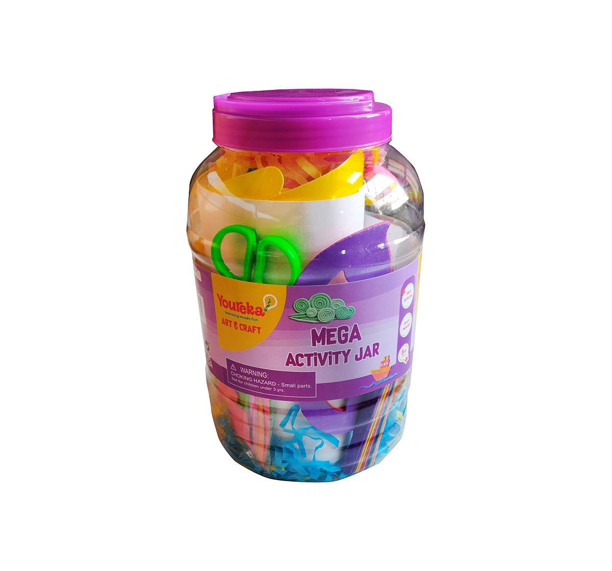 Youreka | Youreka Mega Activity Jar DIY Art & Craft Kits for Girls age 3Y+