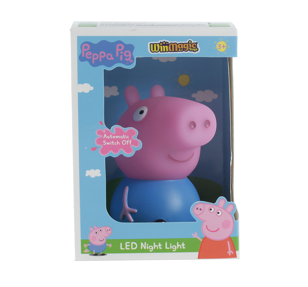 Peppa Pig | Peppa Pig George Night Light With Timer for Kids age 3Y+