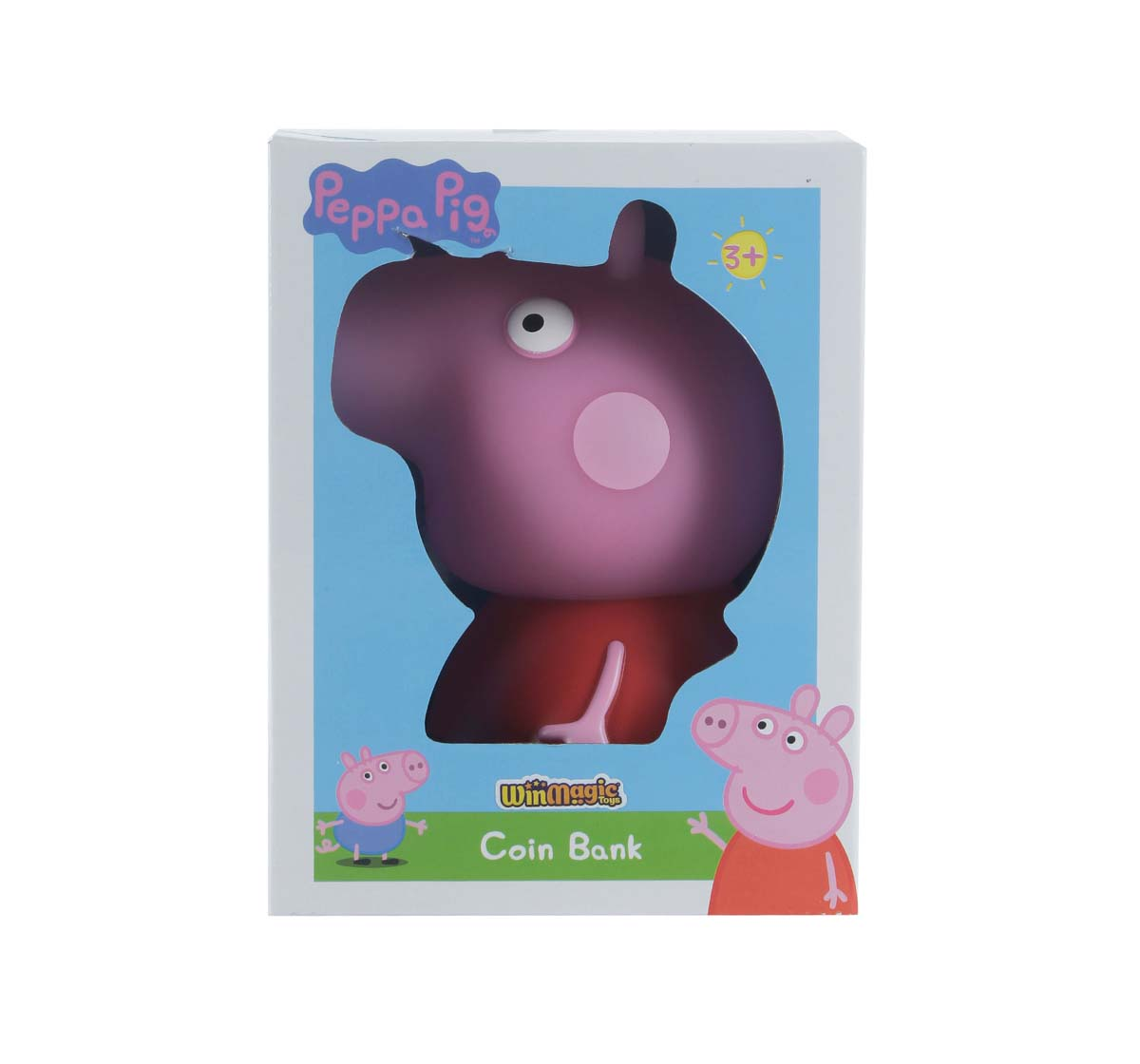 Peppa Pig | Peppa Pig Peppa Coin Bank Novelty for Kids Age 3Y+