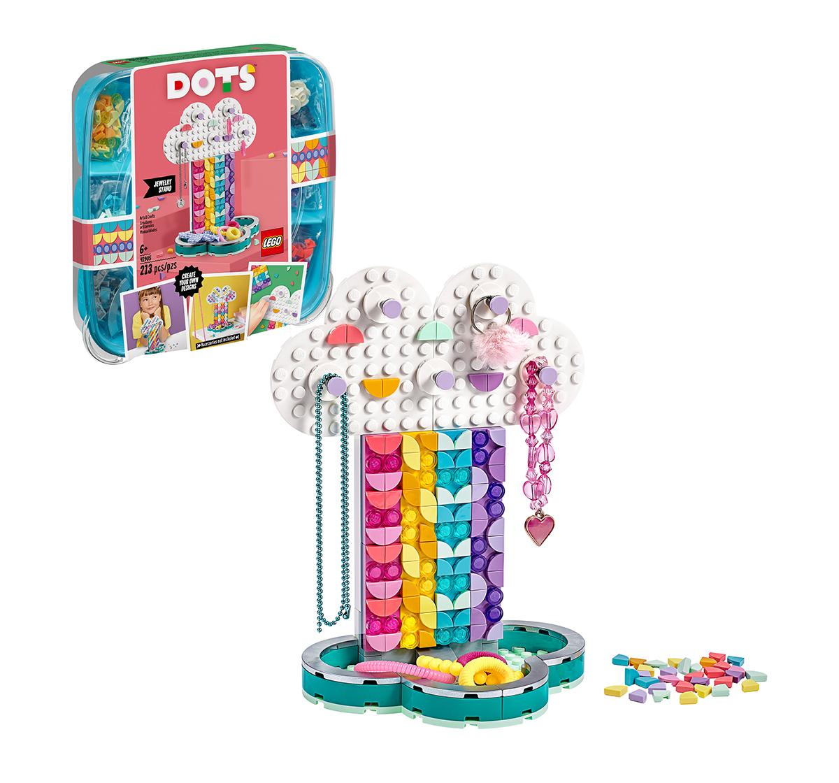 LEGO | LEGO 41905 Rainbow Jewelry Stand Lego Blocks for Girls age 6Y+