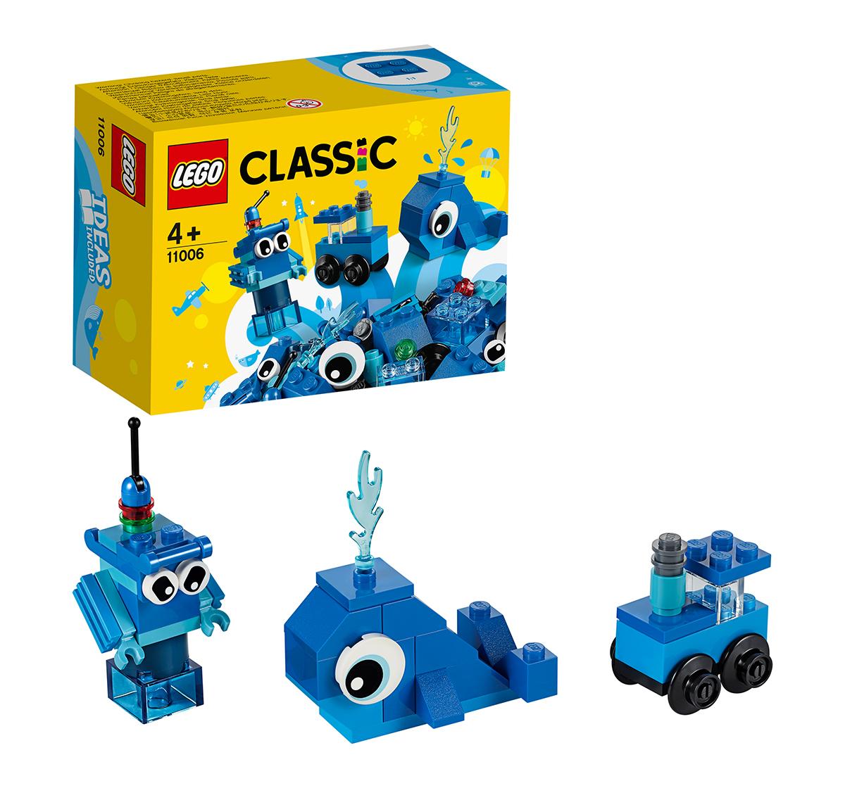 LEGO | LEGO 11006 Creative Blue Bricks Lego Blocks for Kids age 4Y+