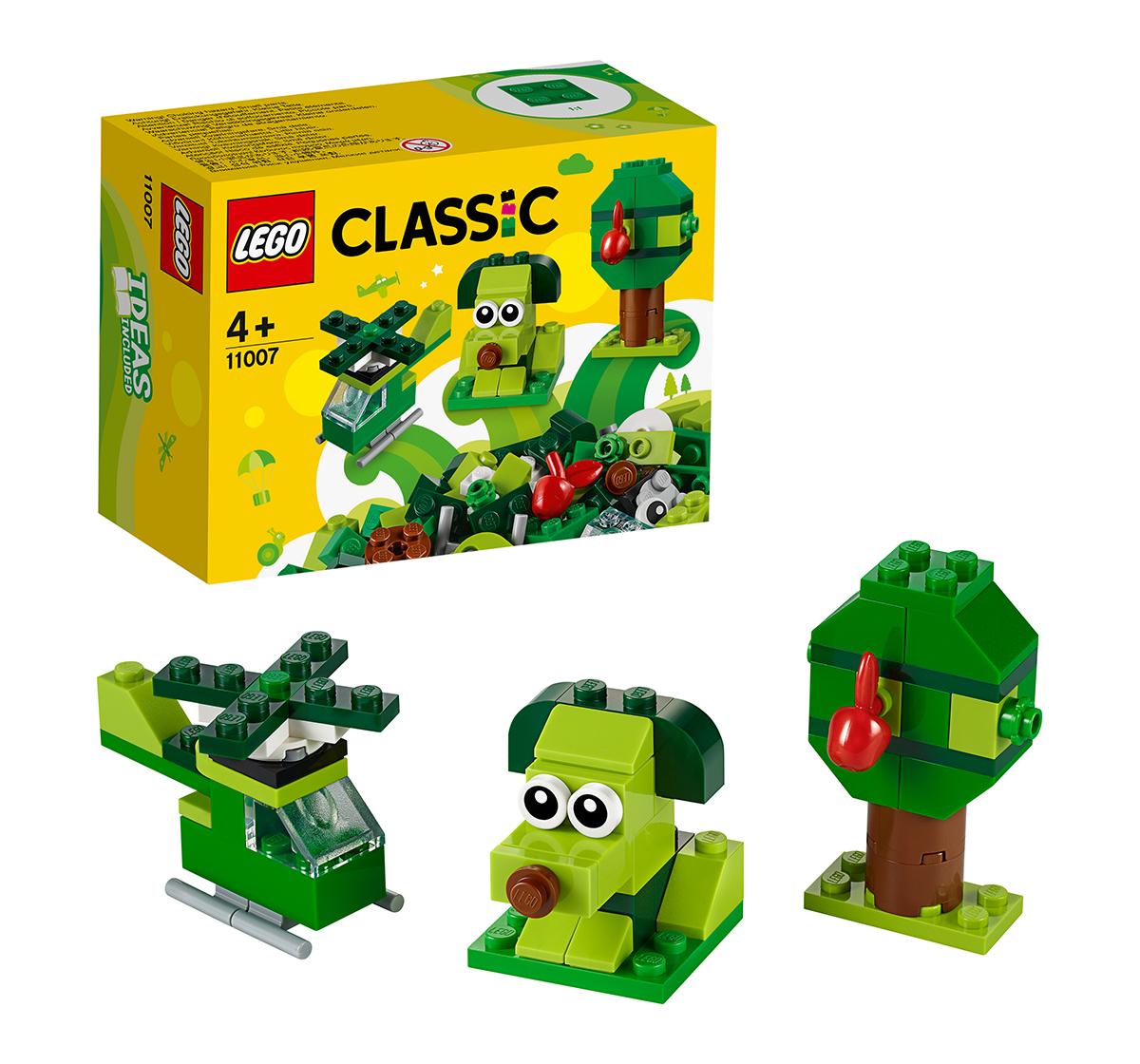 LEGO | LEGO 11007 Creative Green Bricks Lego Blocks for Kids age 4Y+